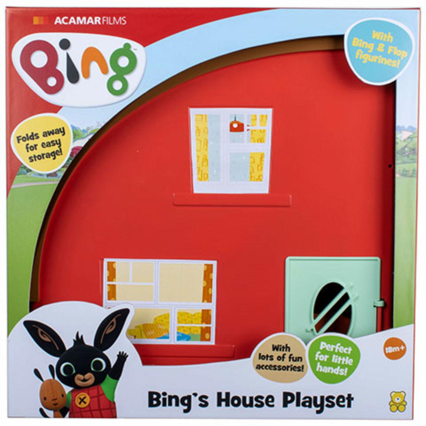 Bing ház játékszett