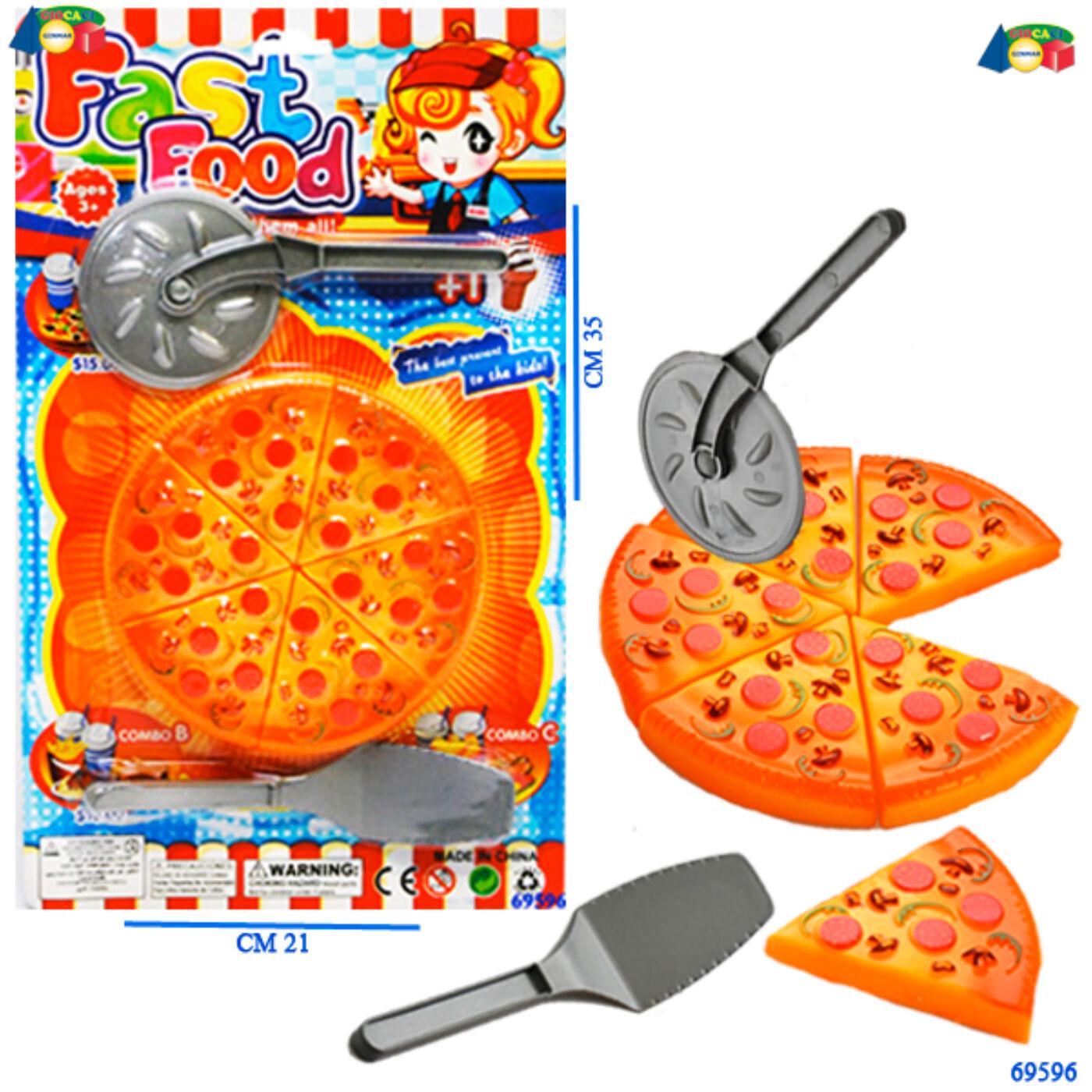 Ételszett-pizza