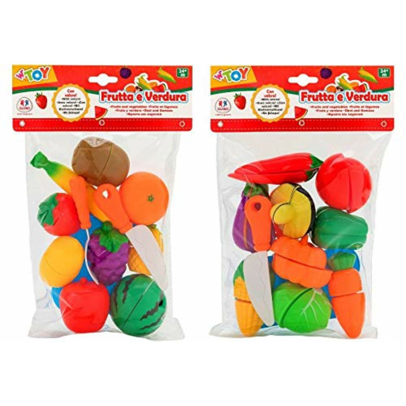 Vágható zöldségek, gyümölcsök
