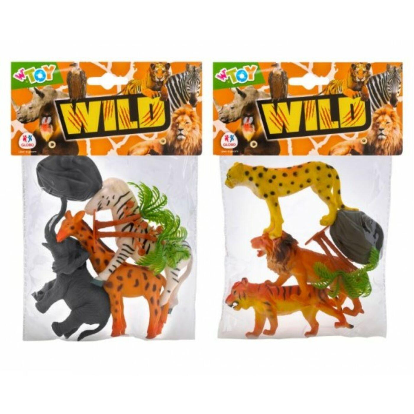 Állatszett - Állatkerti állatok