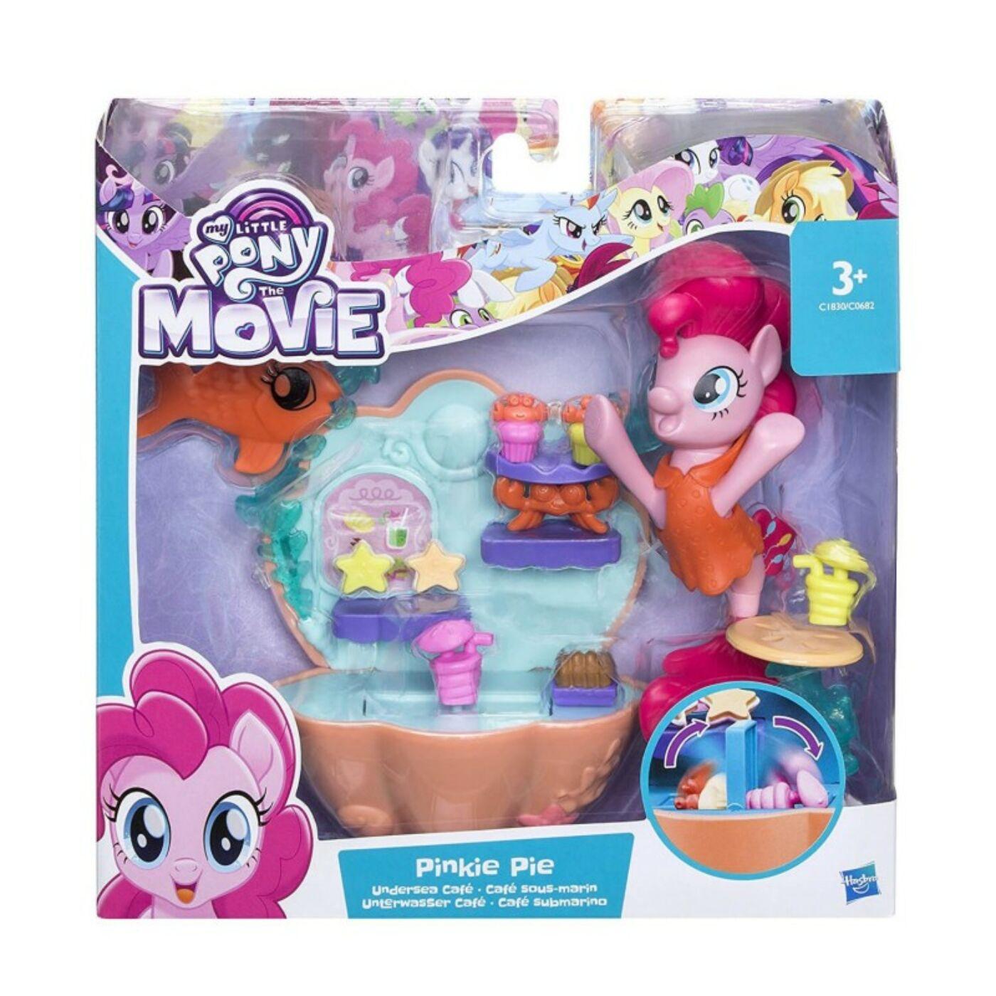 My little pony Pinkie Pie víz alatti fürdője