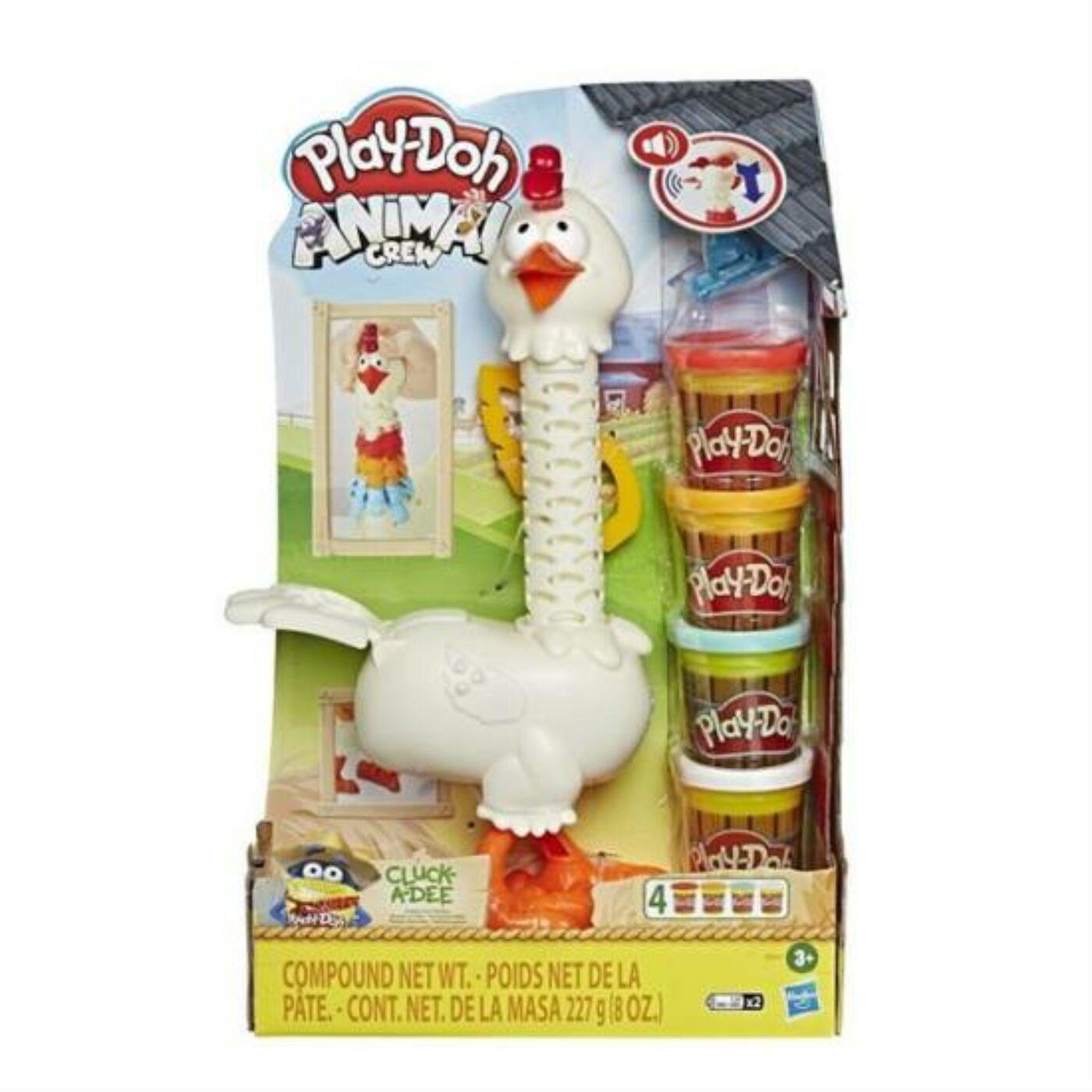 Play Doh Cluck a Dee - Színes nyakú csirke