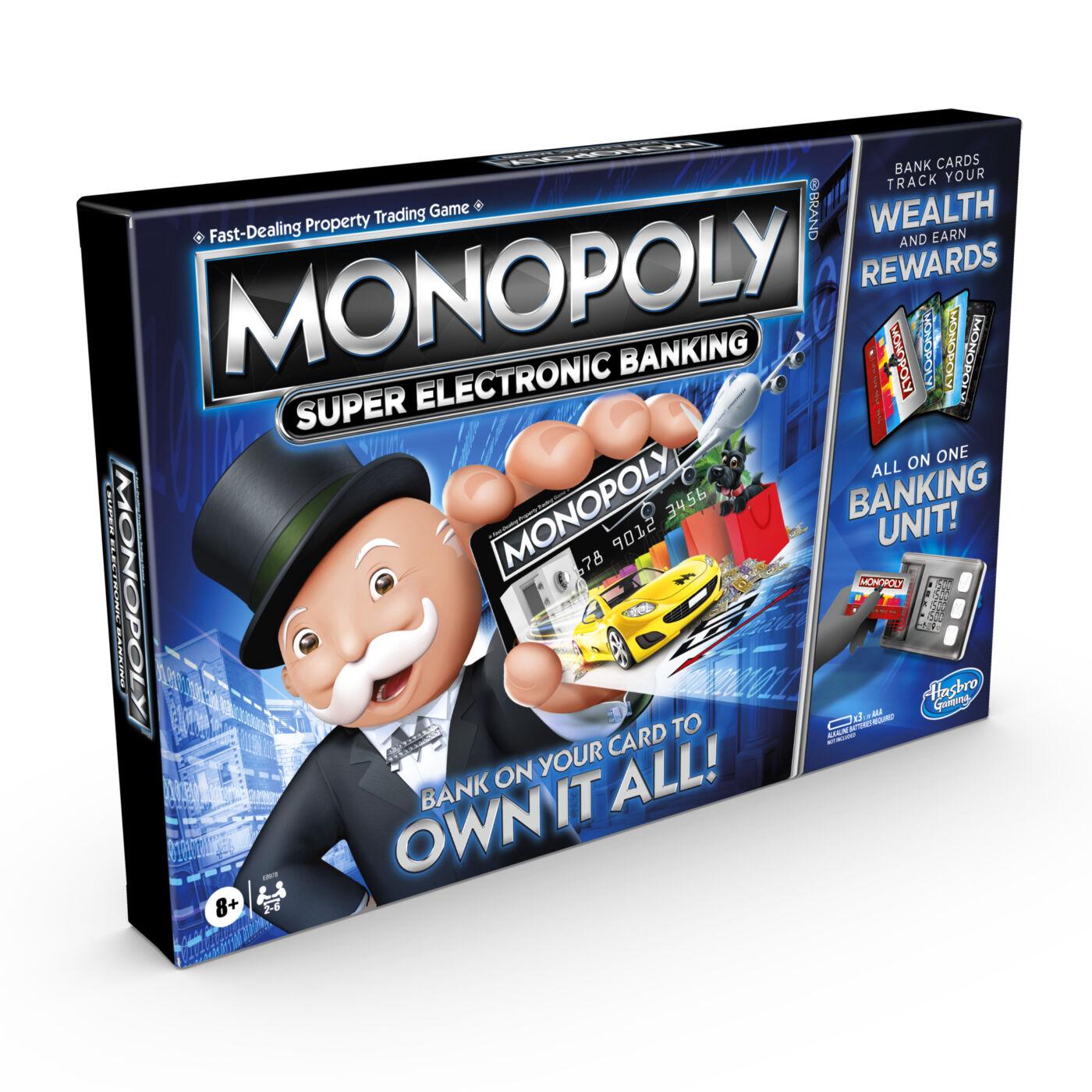 Monopoly Szuper teljeskörű bankolás