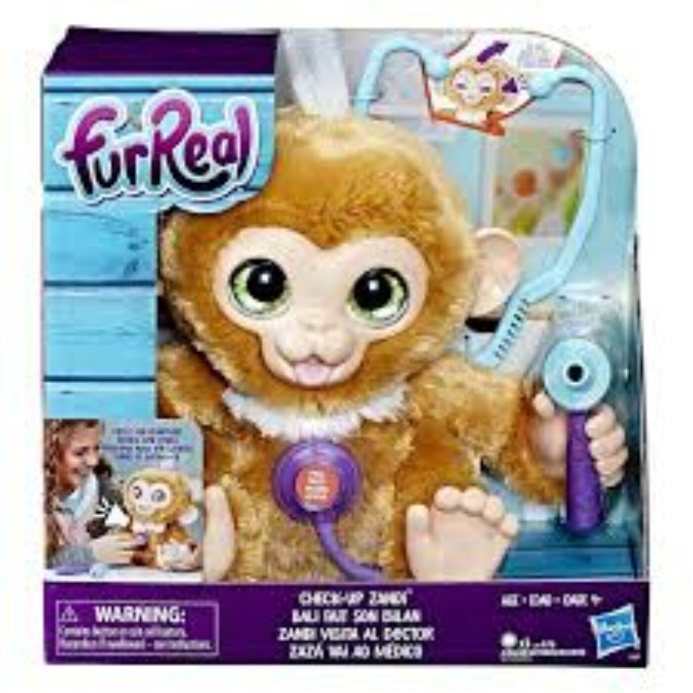FuReal Zandi interaktív majom
