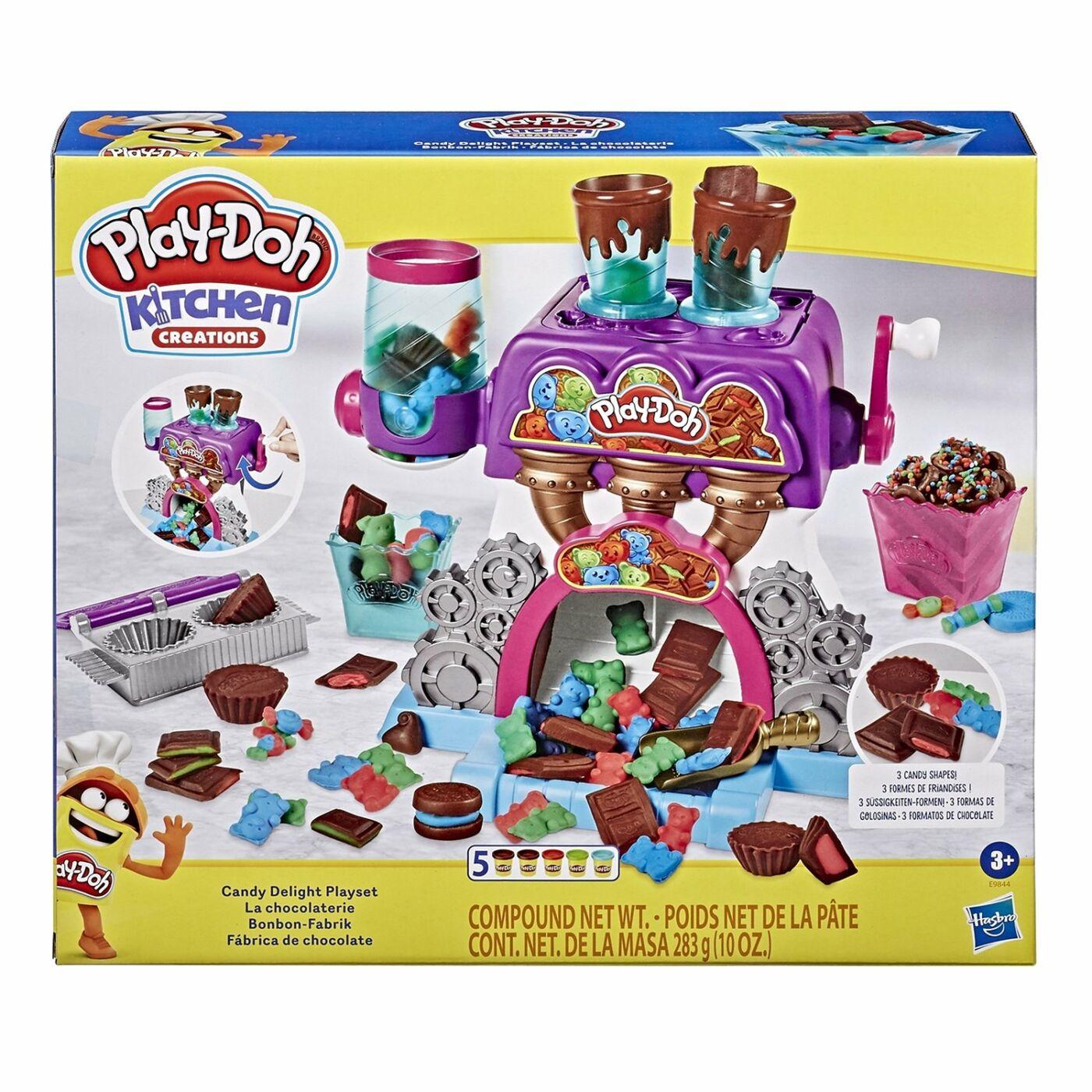 Play Doh csokigyár