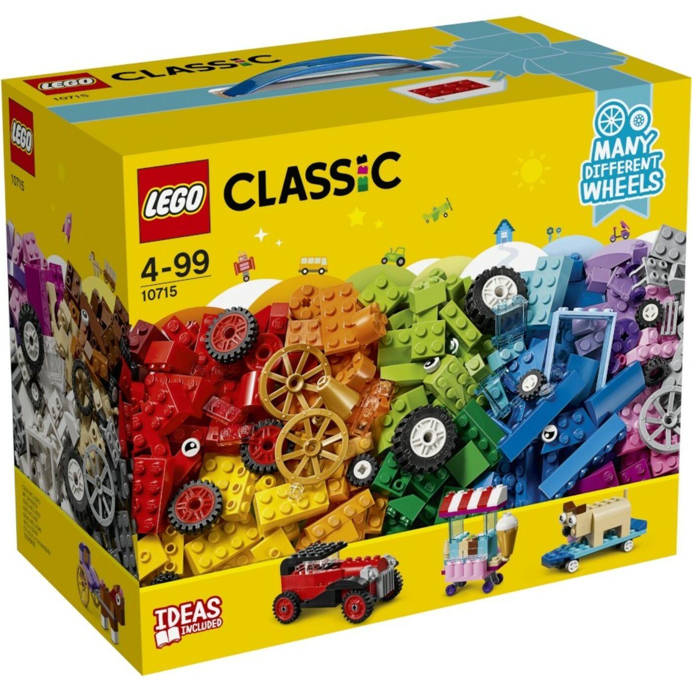 Lego Classic Kockák és kerekek