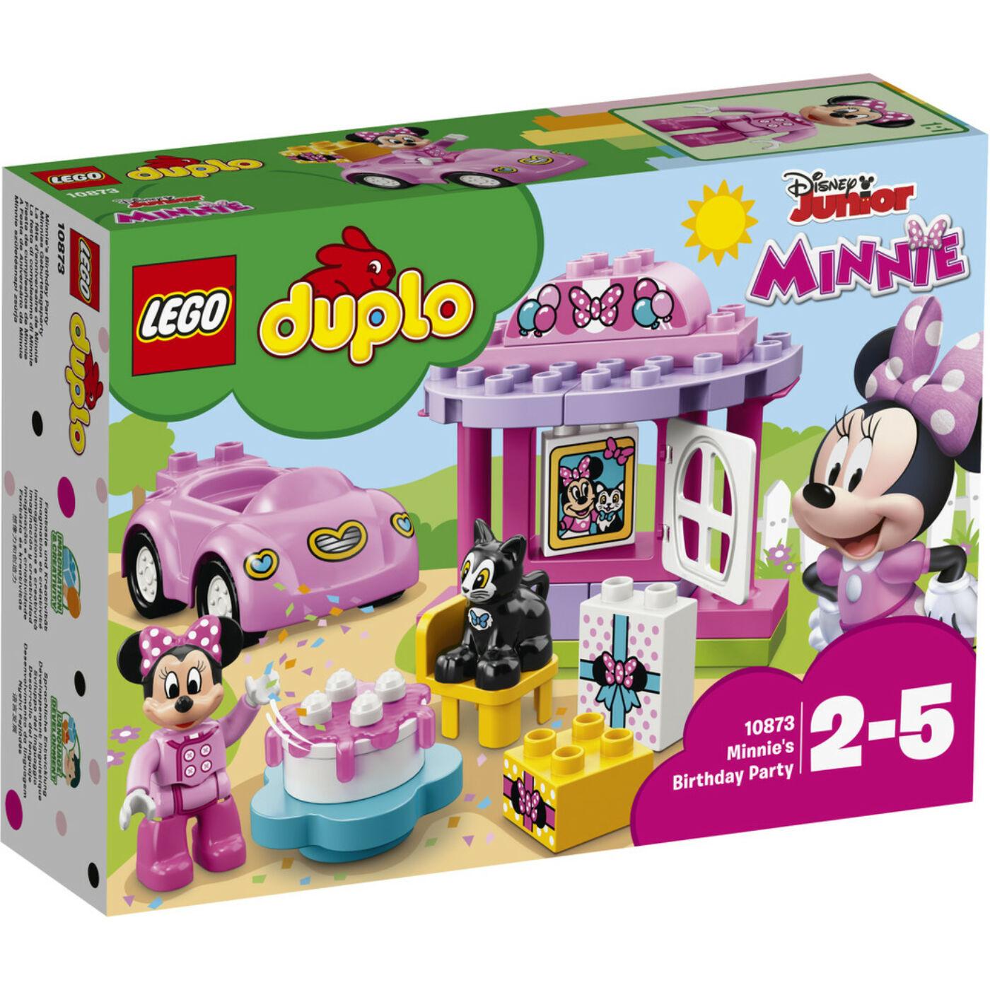 Lego Duplo Minnie születésnapi zsúrja