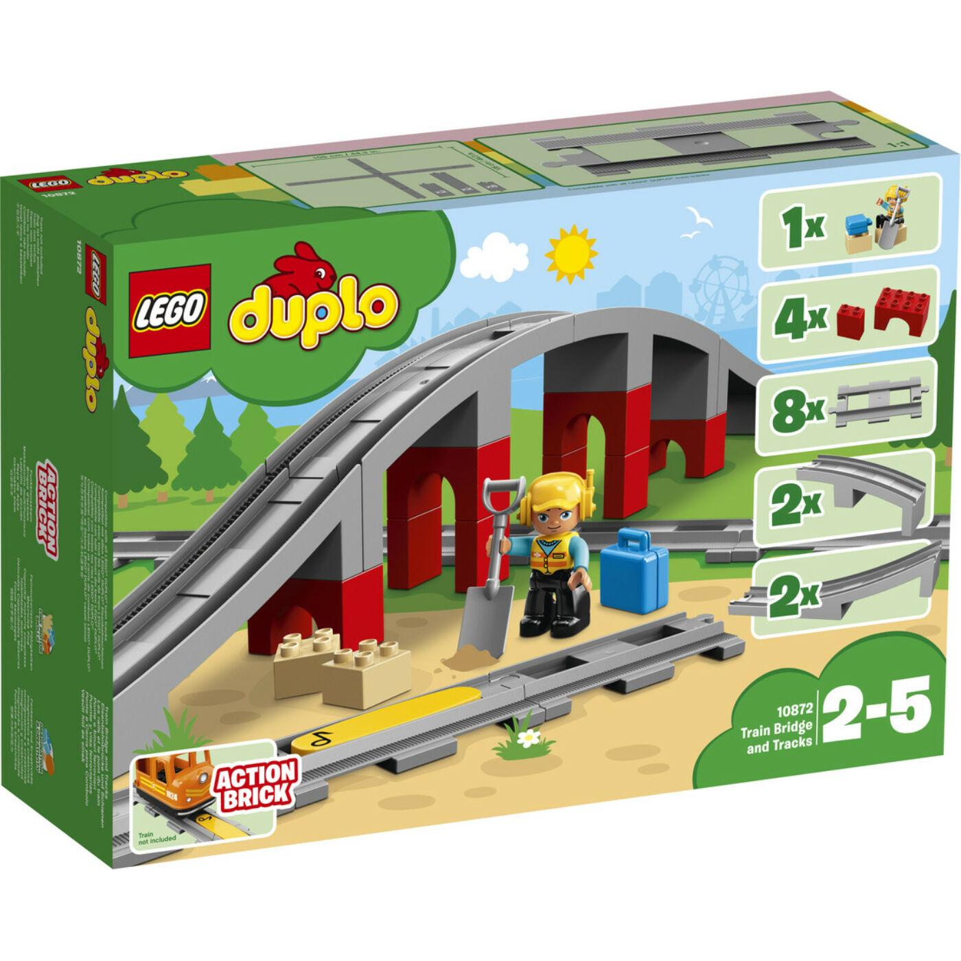 Lego Duplo Vasúti híd és sínek