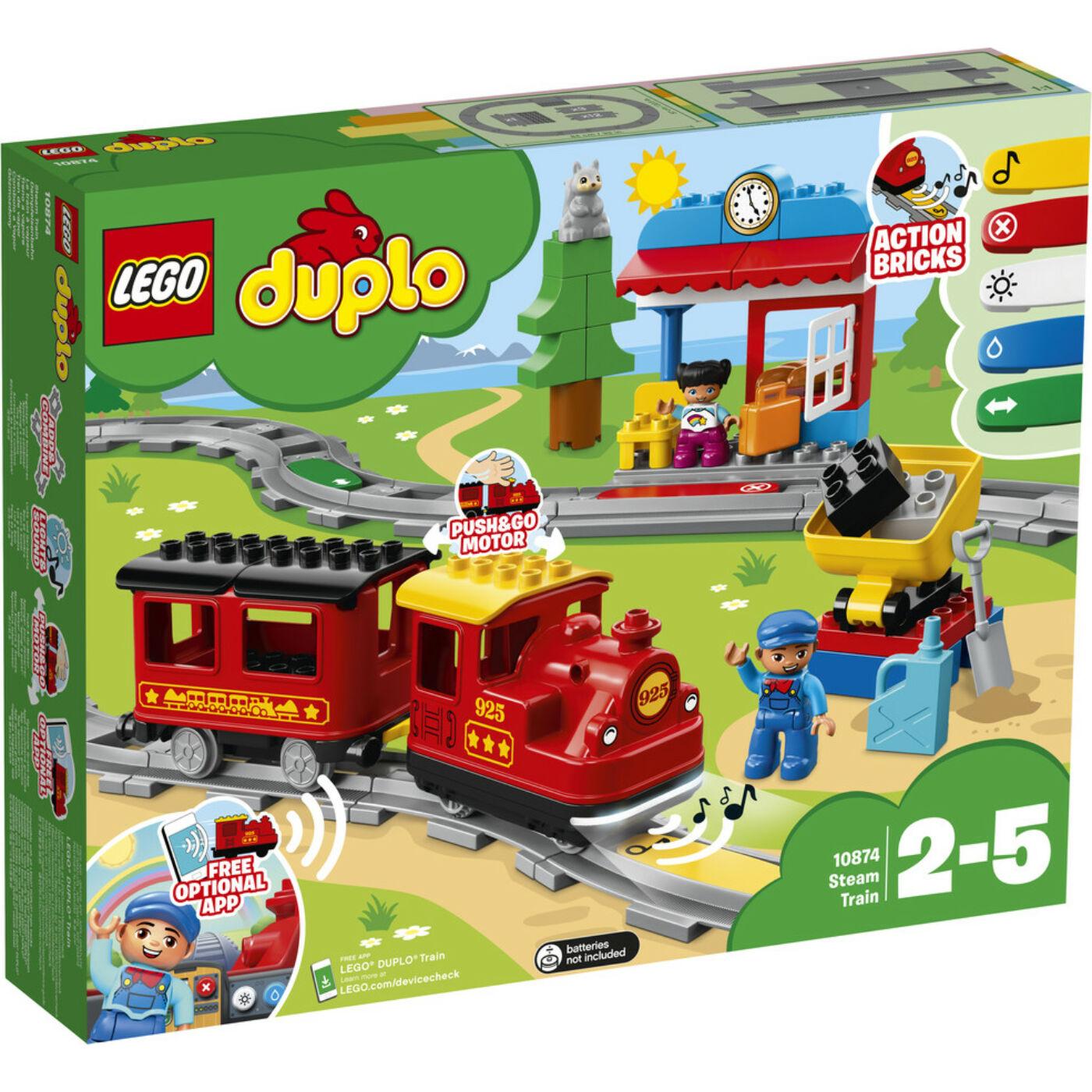 Lego Duplo Gőzmozdony