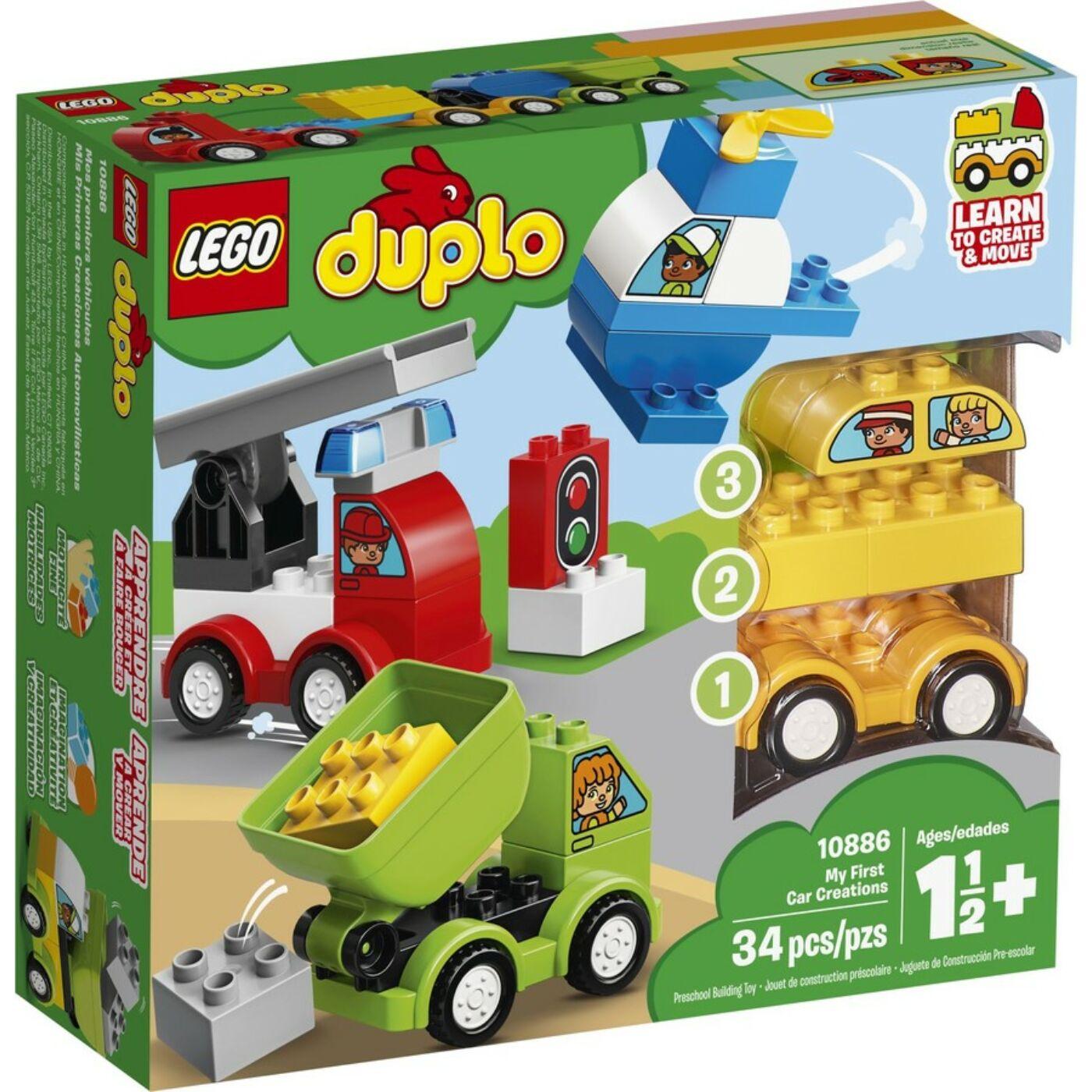 Lego Duplo Első autós alkotásaim