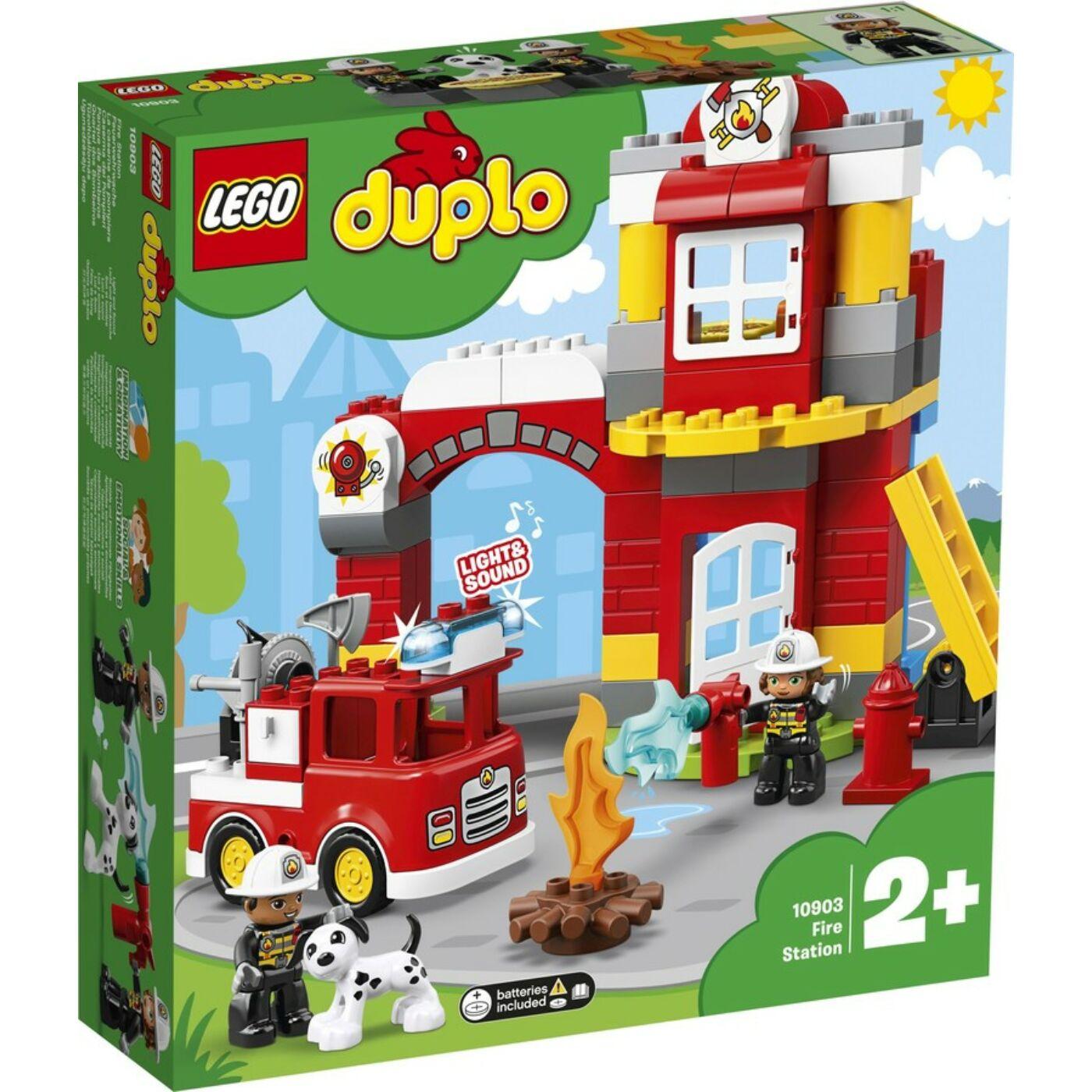 Lego Duplo Tűzoltó állomás