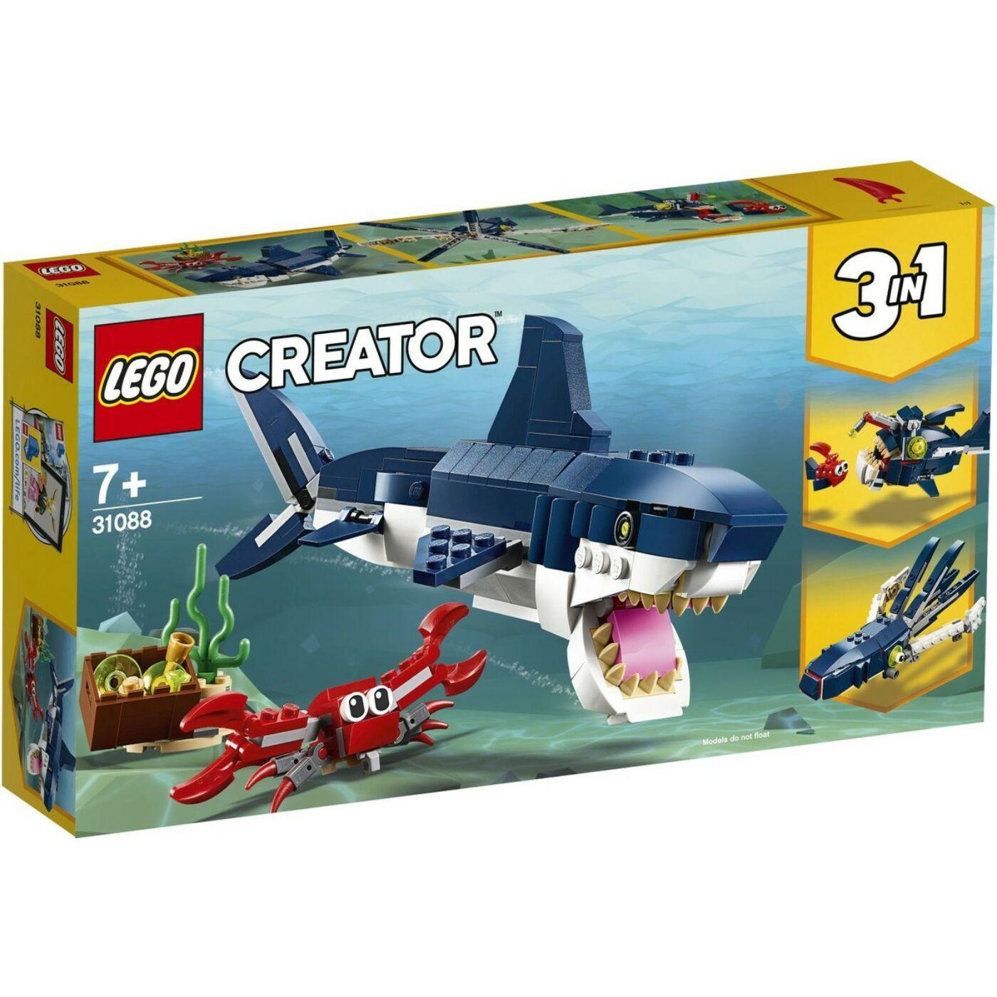 Lego Creator Mélytengeri lények