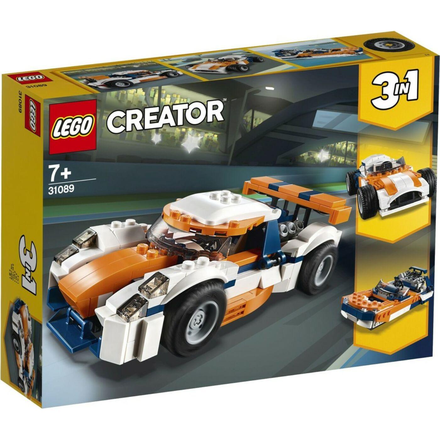 Lego Creator Sunset versenyautó
