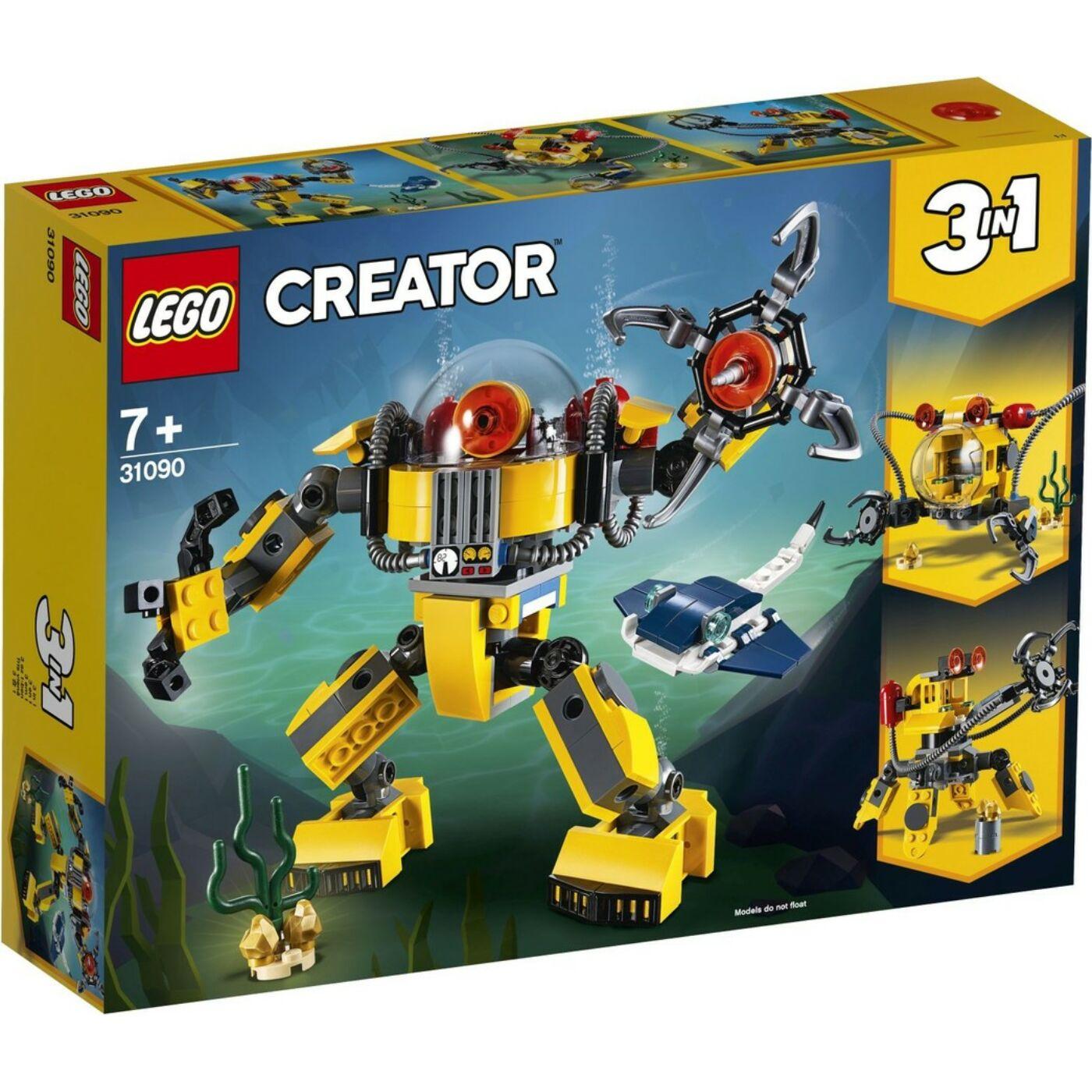 Lego Creator Víz alatti robot