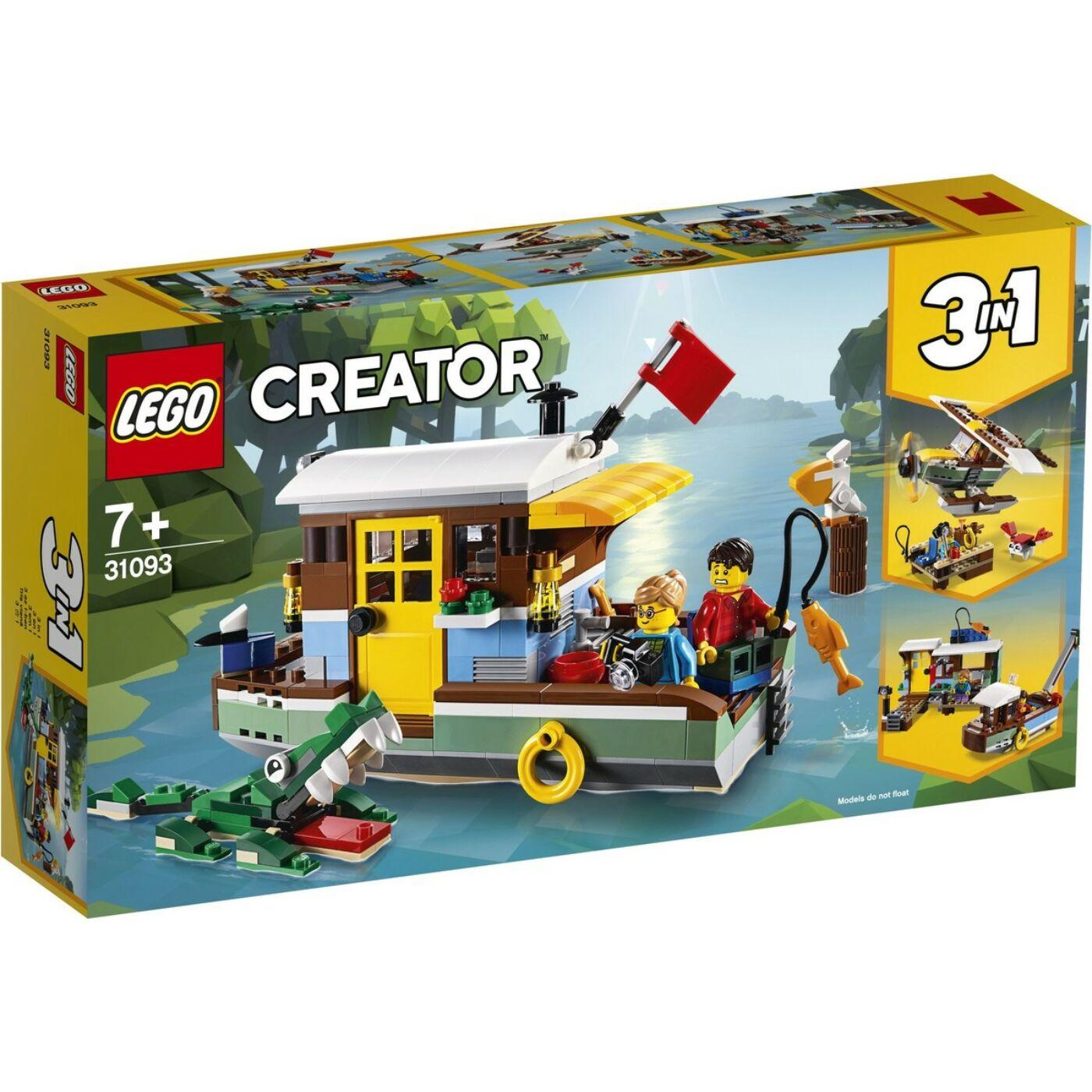 Lego Creator Folyóparti lakóhajó