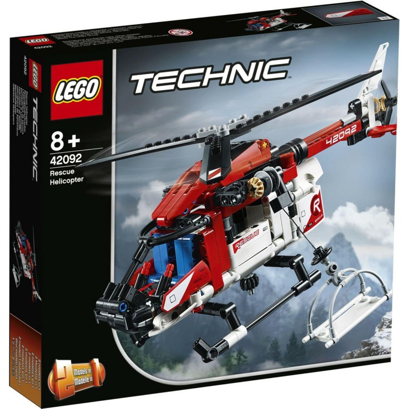 Lego Technic Mentőhelikopter