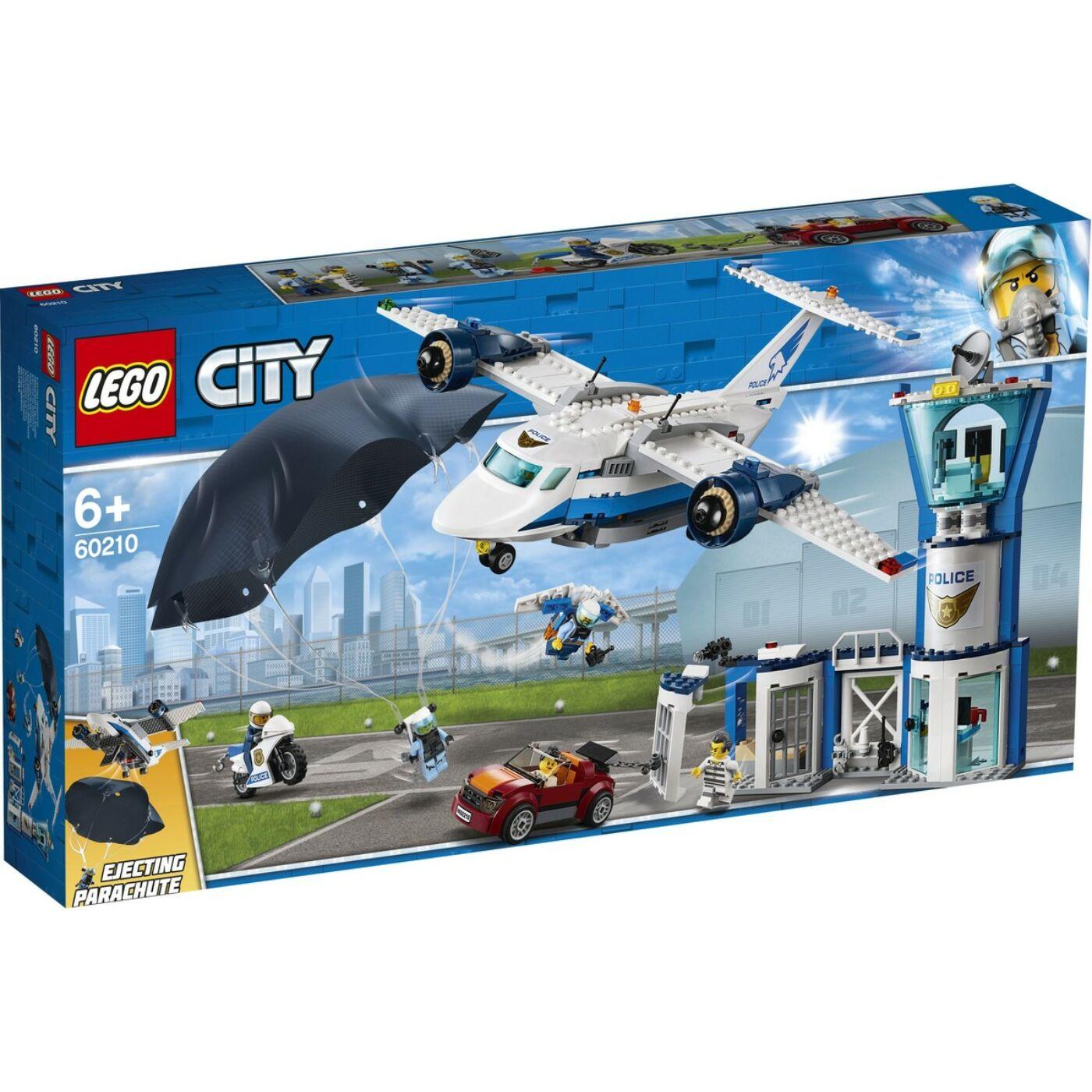 Lego City Léi rendőrségi légibázis
