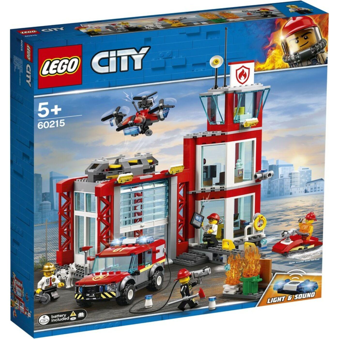 Lego City Tűzoltóállomás