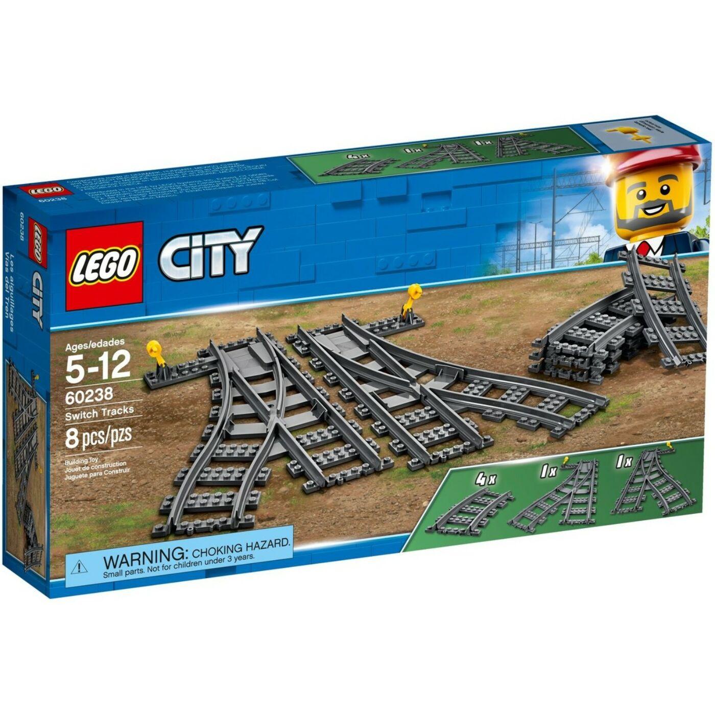 Lego City Vasúti váltó