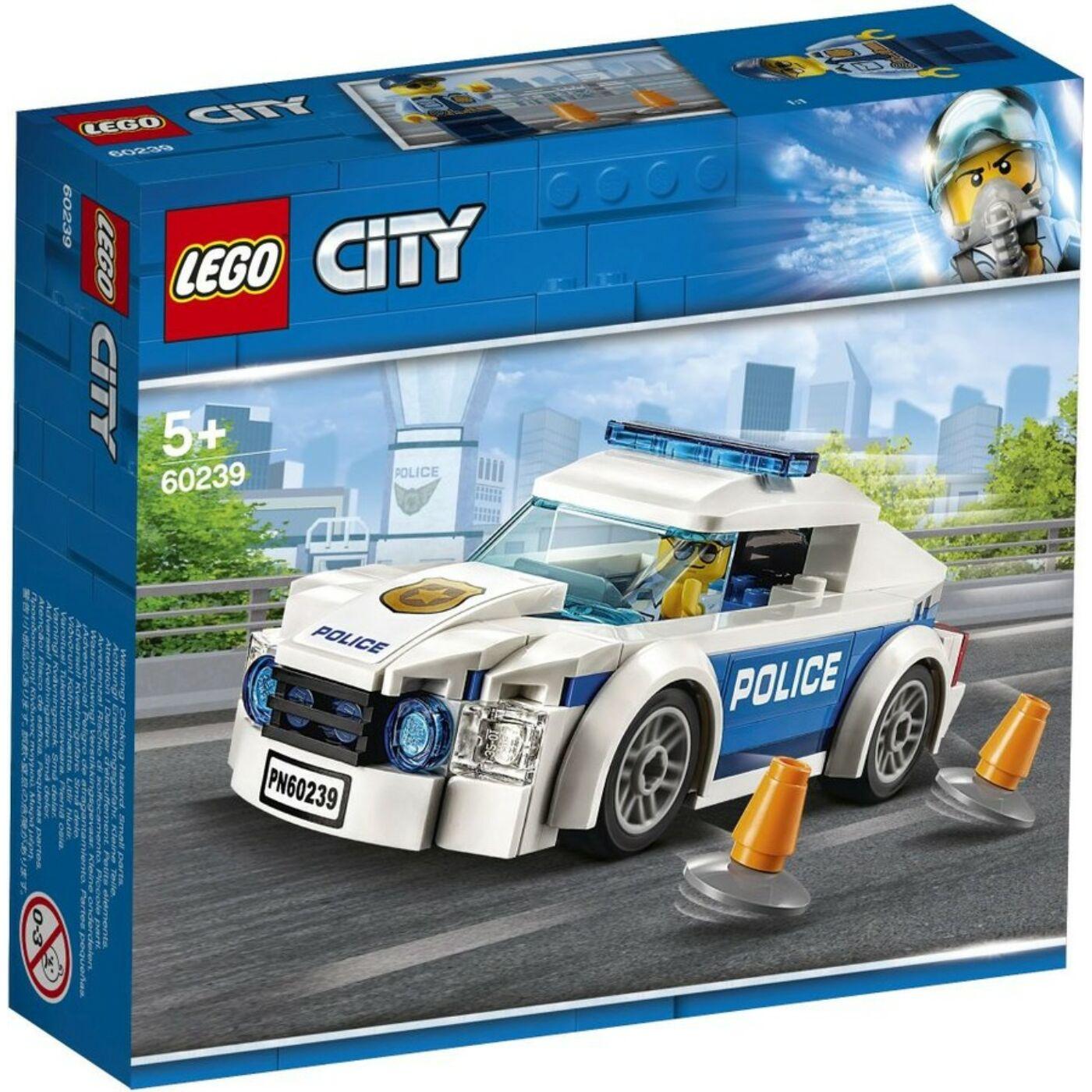 Lego City Rendőrségi járőrkocsi