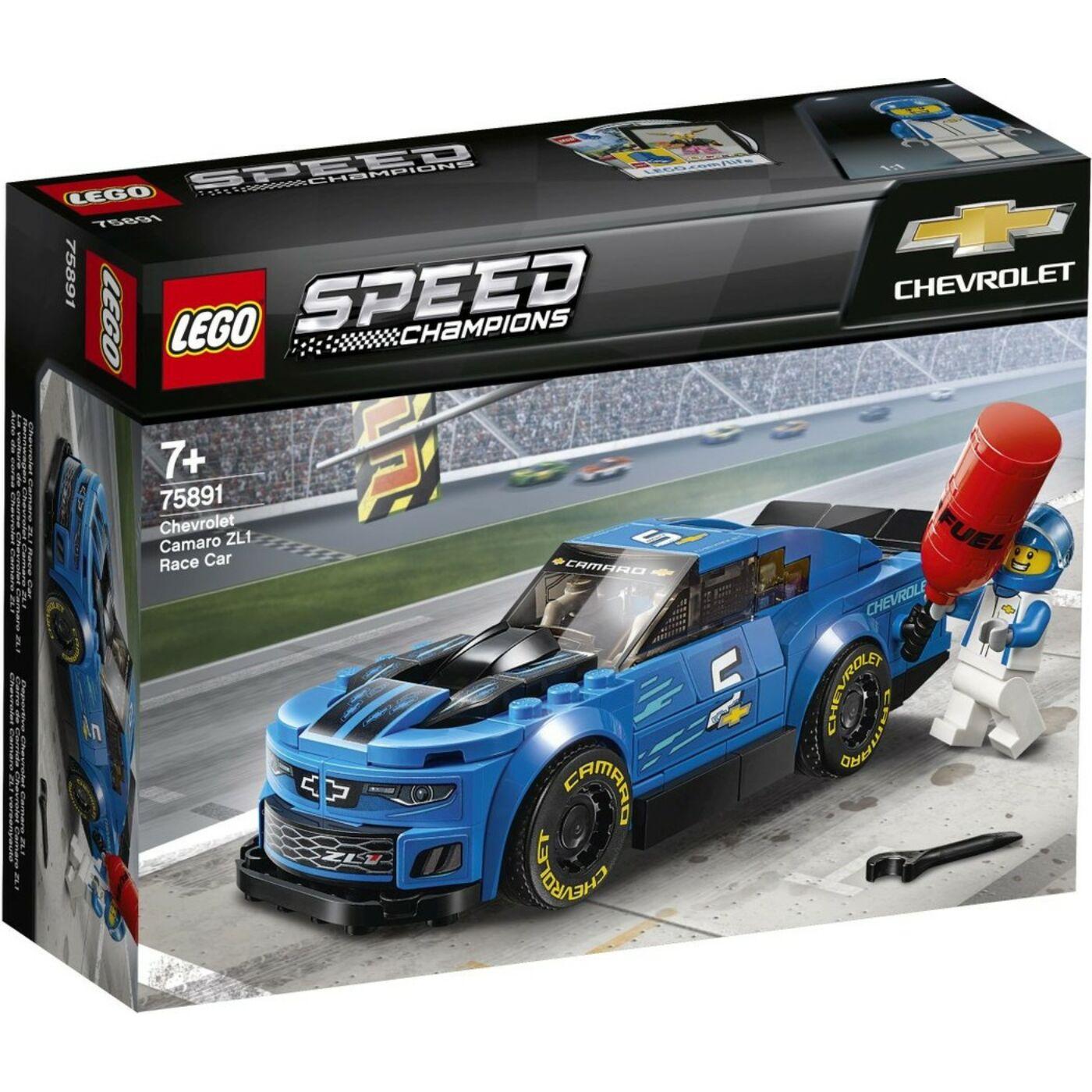 Lego Speed Champions Chevrolet Camaro ZL1 versenyautó