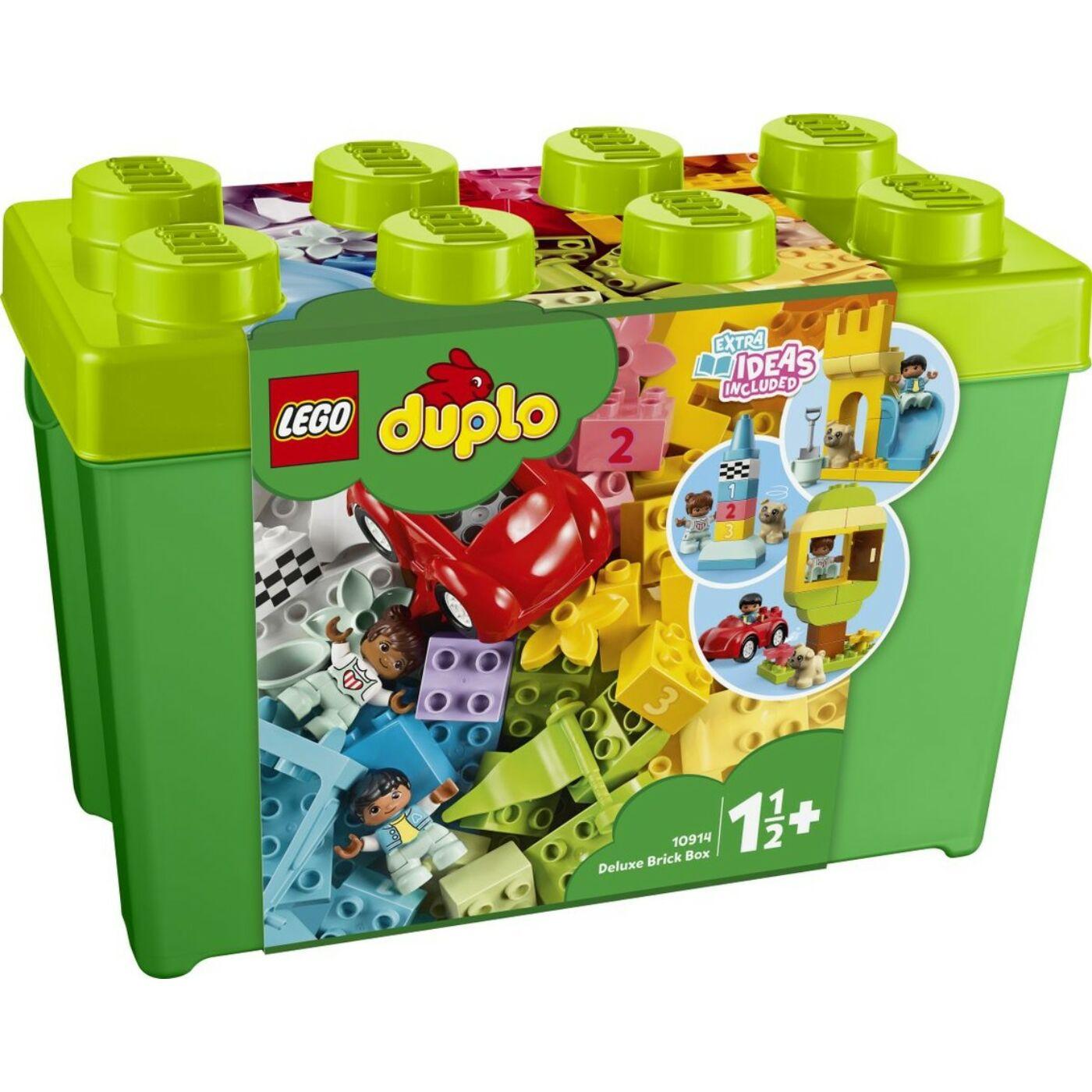 Lego Duplo Delux Elemtartó doboz