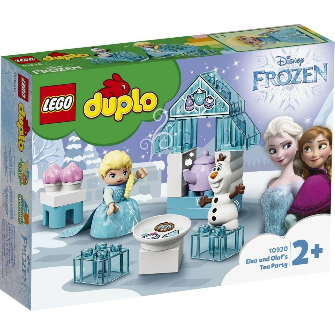 Lego Duplo Elza és Olaf jeges partija