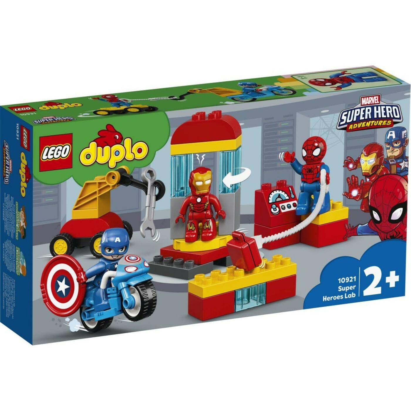 Lego Duplo Szuperhős labor