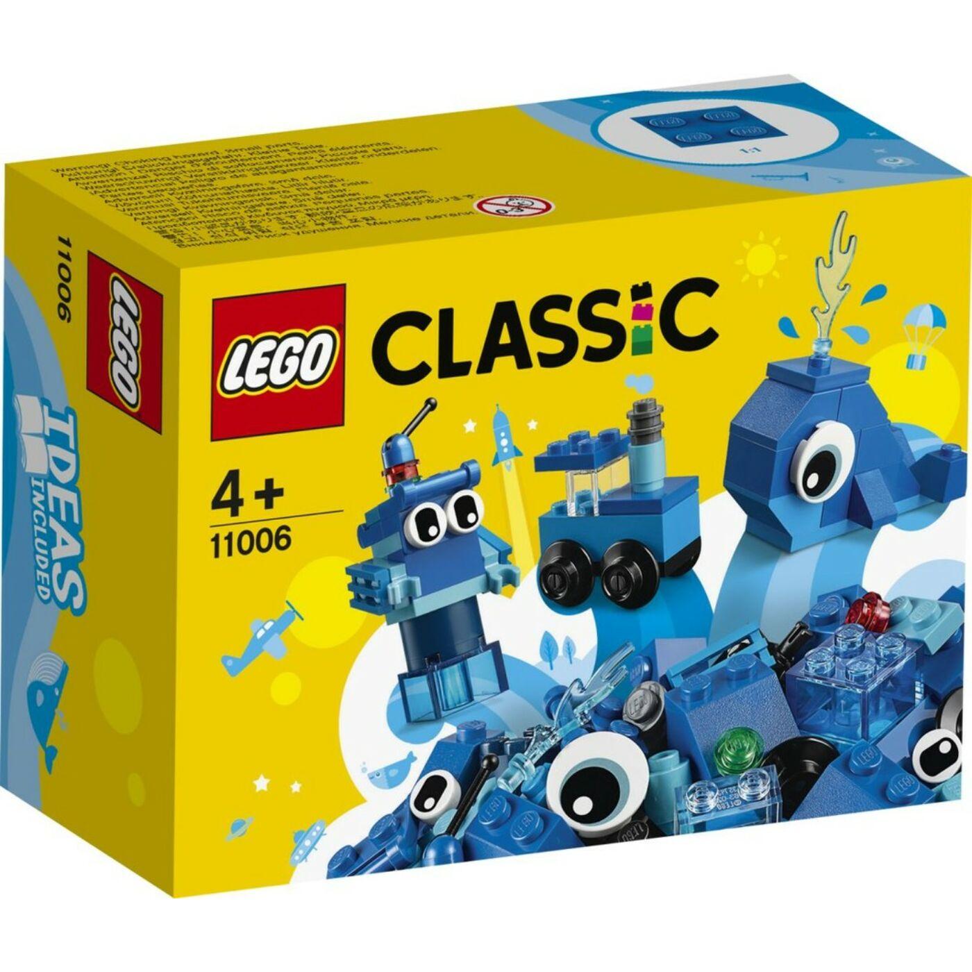 Lego Classic Kreatív kék kockák