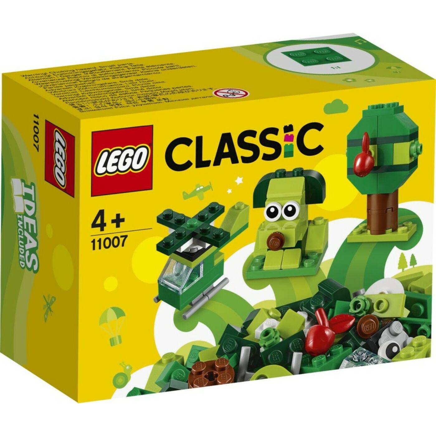 Lego Classic Kreatív zöld kockák