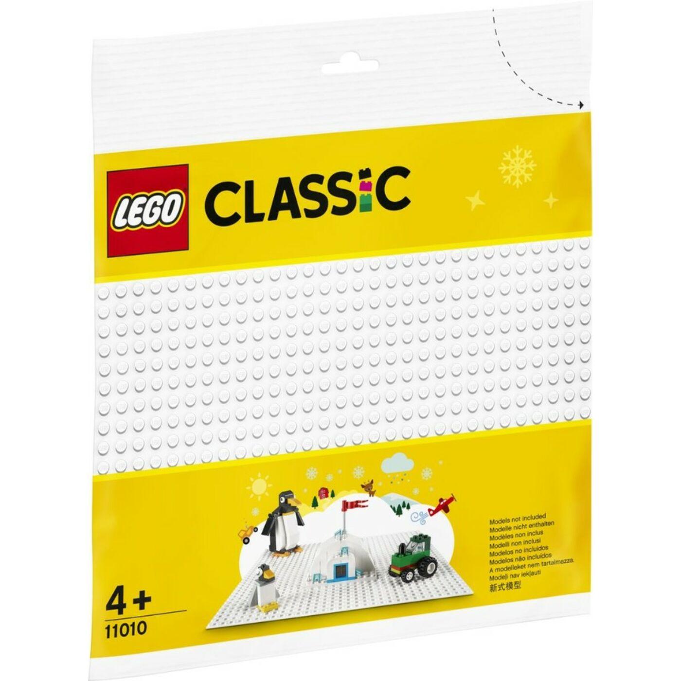 Lego Classic Fehér alaplap