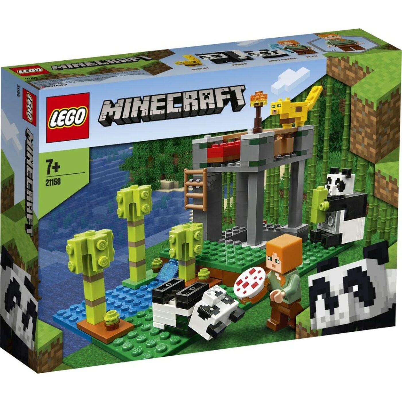 Lego Minecraft A pandabölcsőde