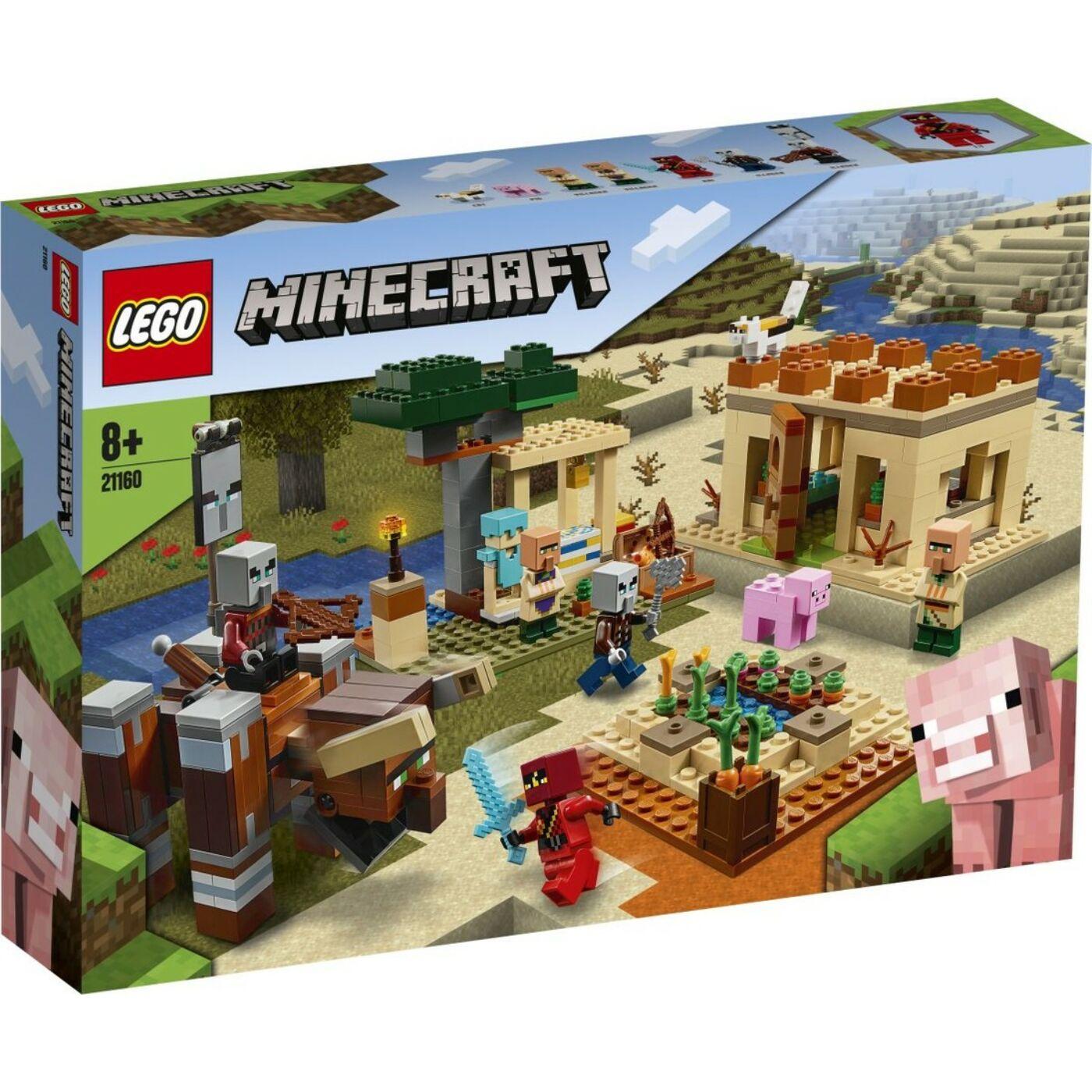 Lego Minecraft A falusi rajtaütés