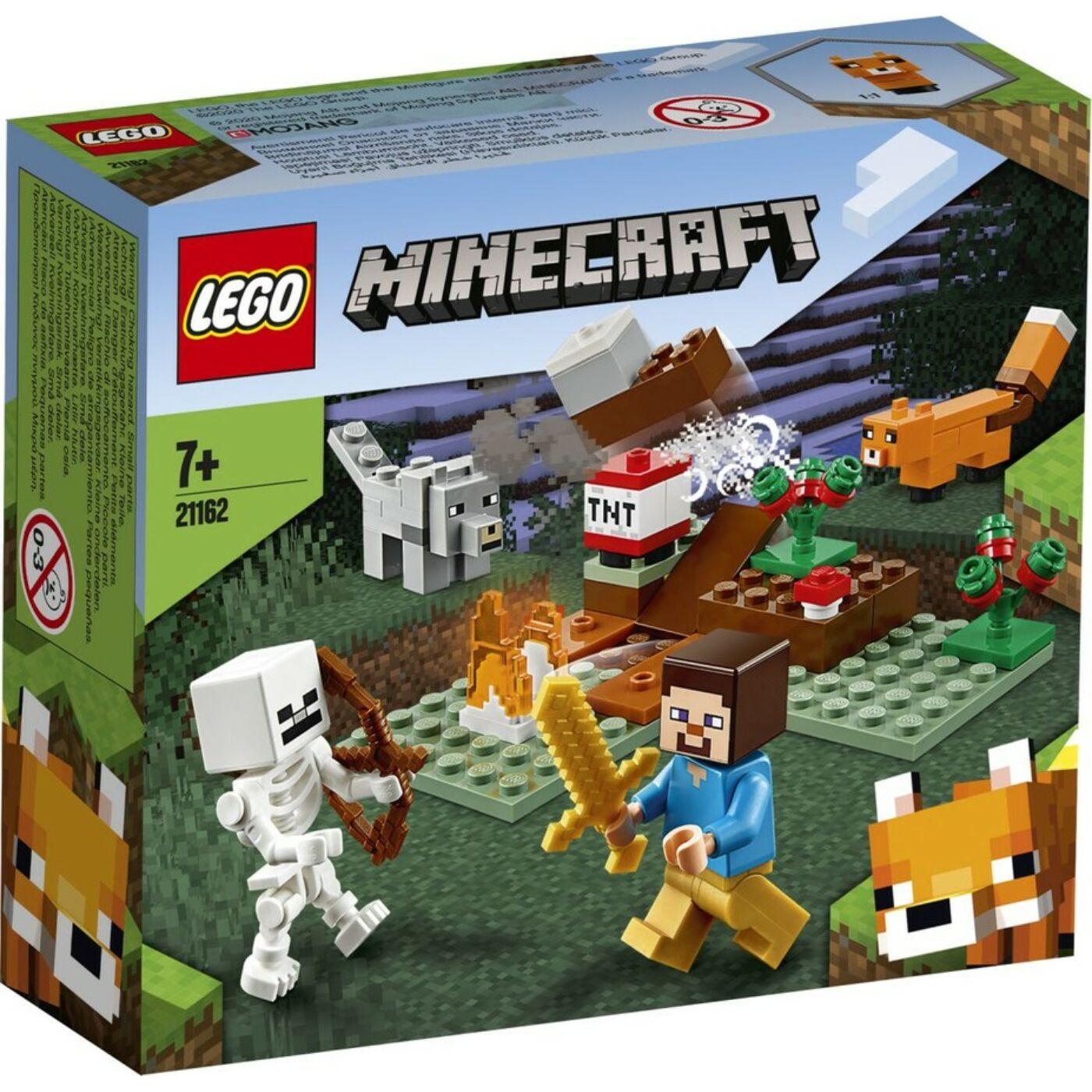 Lego Minecraft A tajgai kaland
