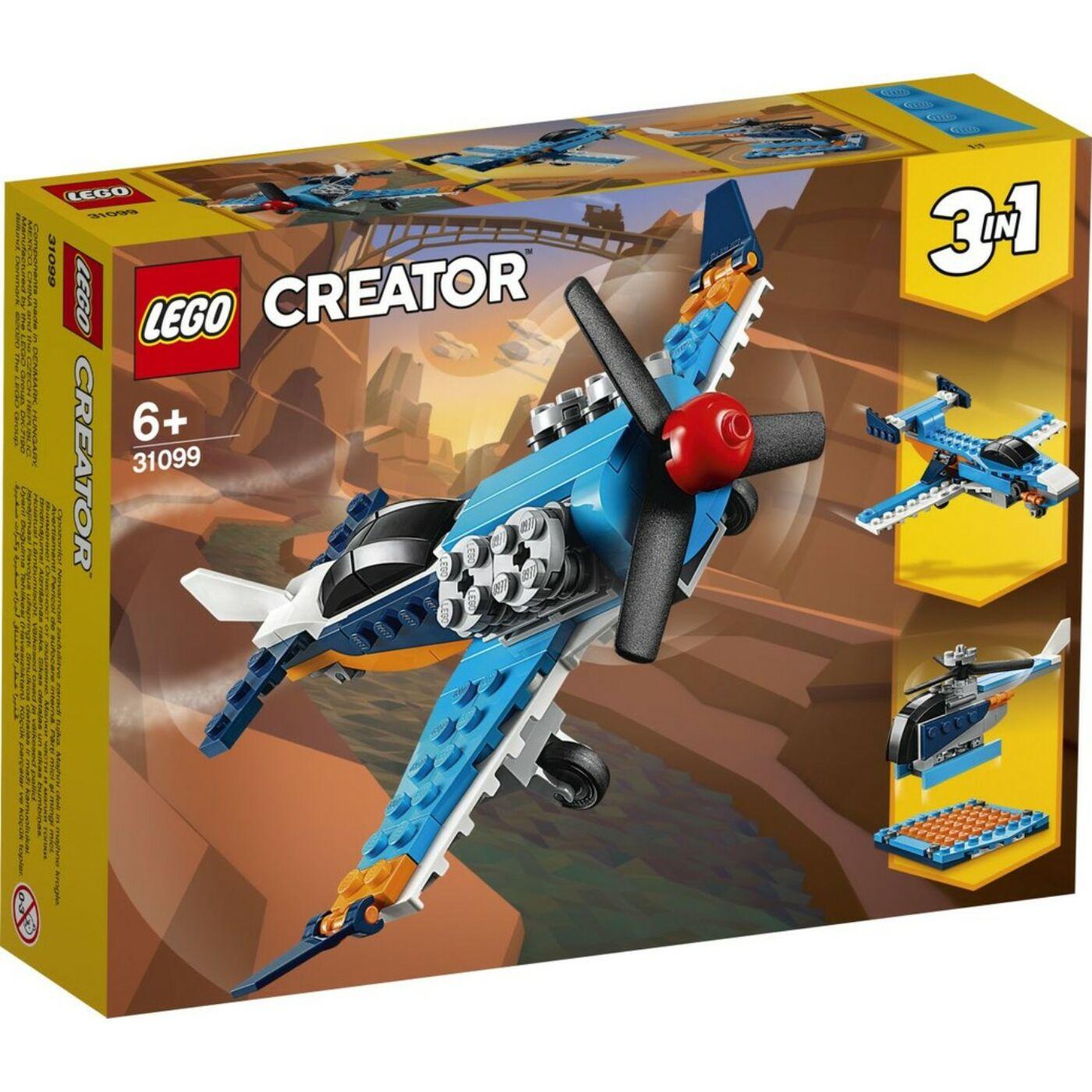 Lego Creator Légcsavaros repülőgép