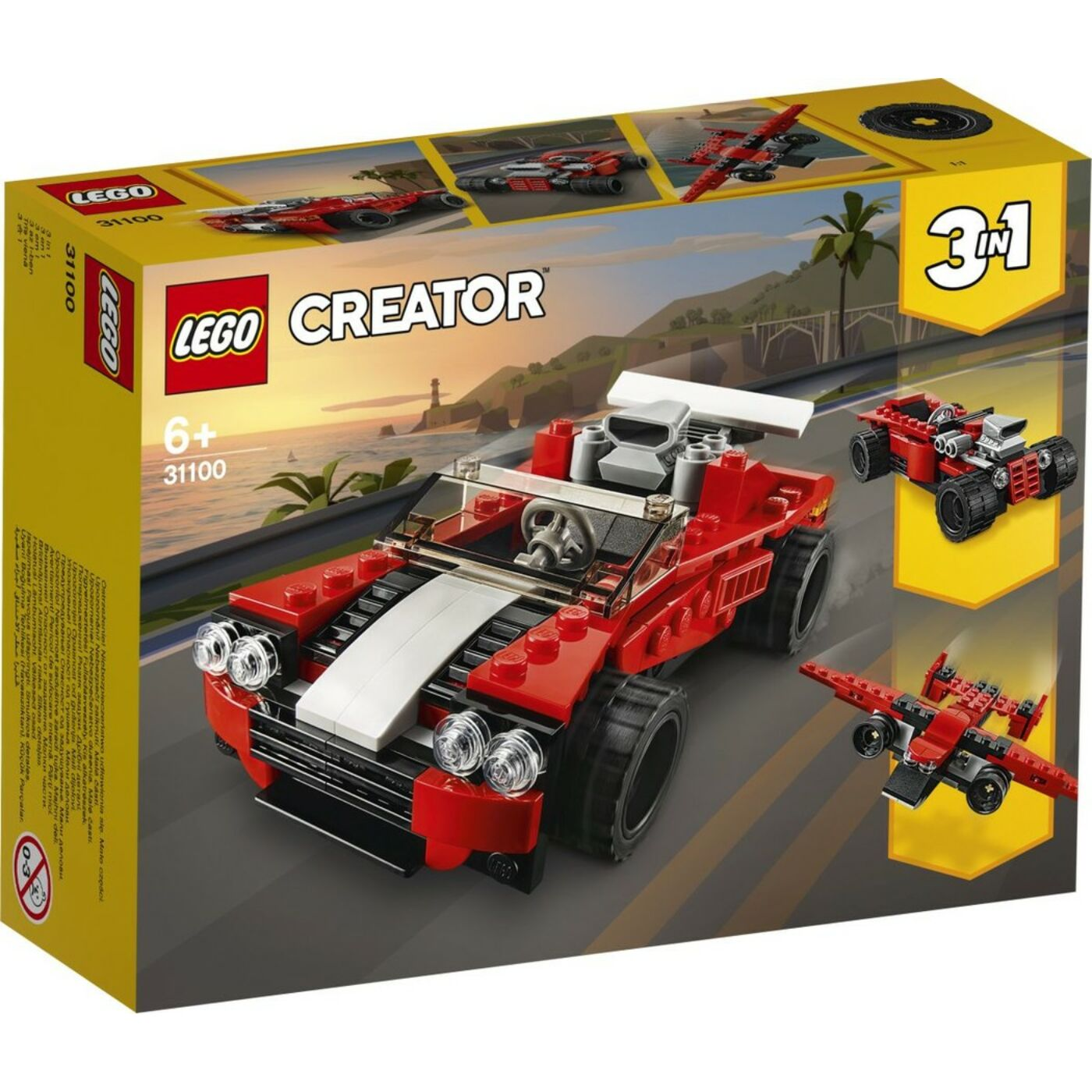 Lego Creator Sportautó