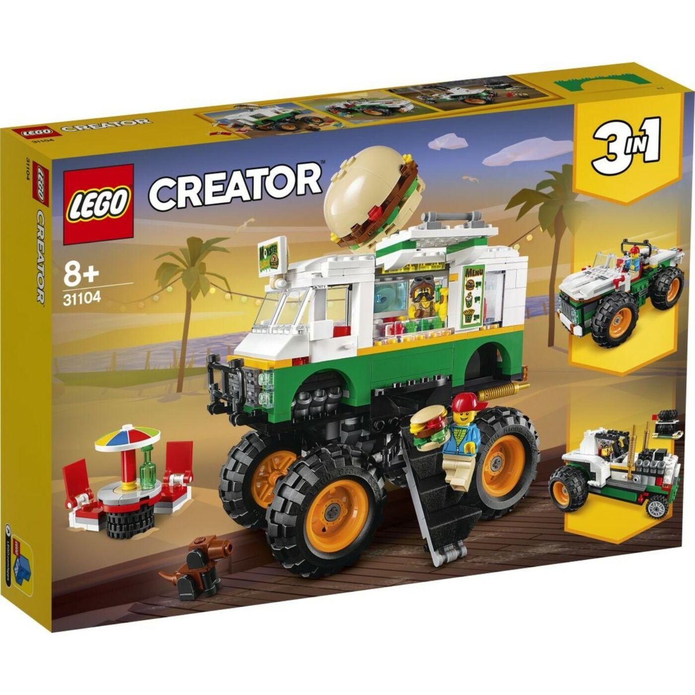 Lego Creator Óriás hamburgeres teherautó