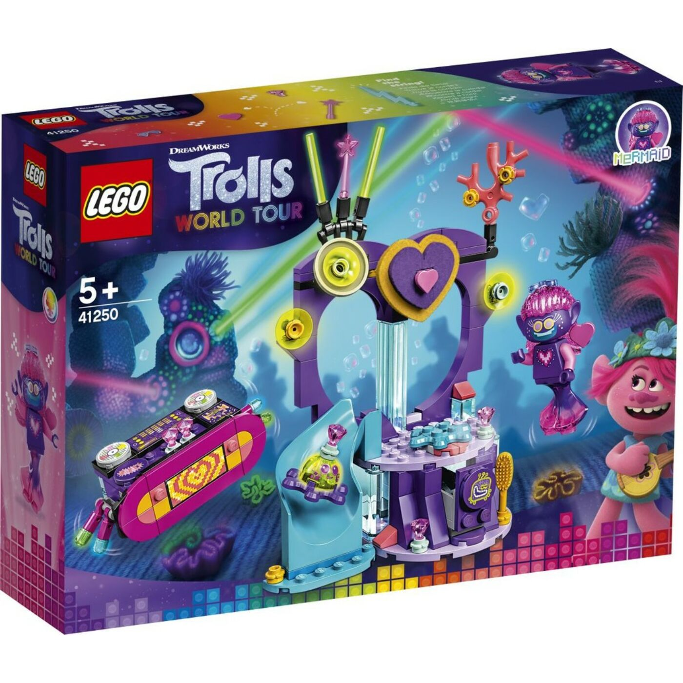 Lego Trolls Táncparti a Techn szirten