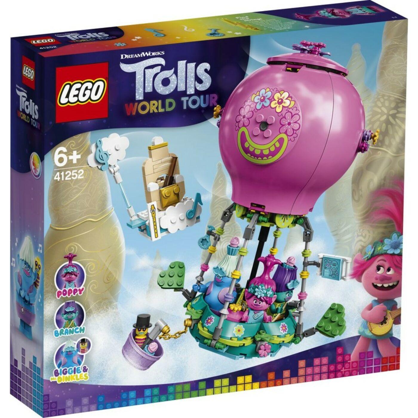 Lego Trolls Pipacs hőlégballonos kalandja