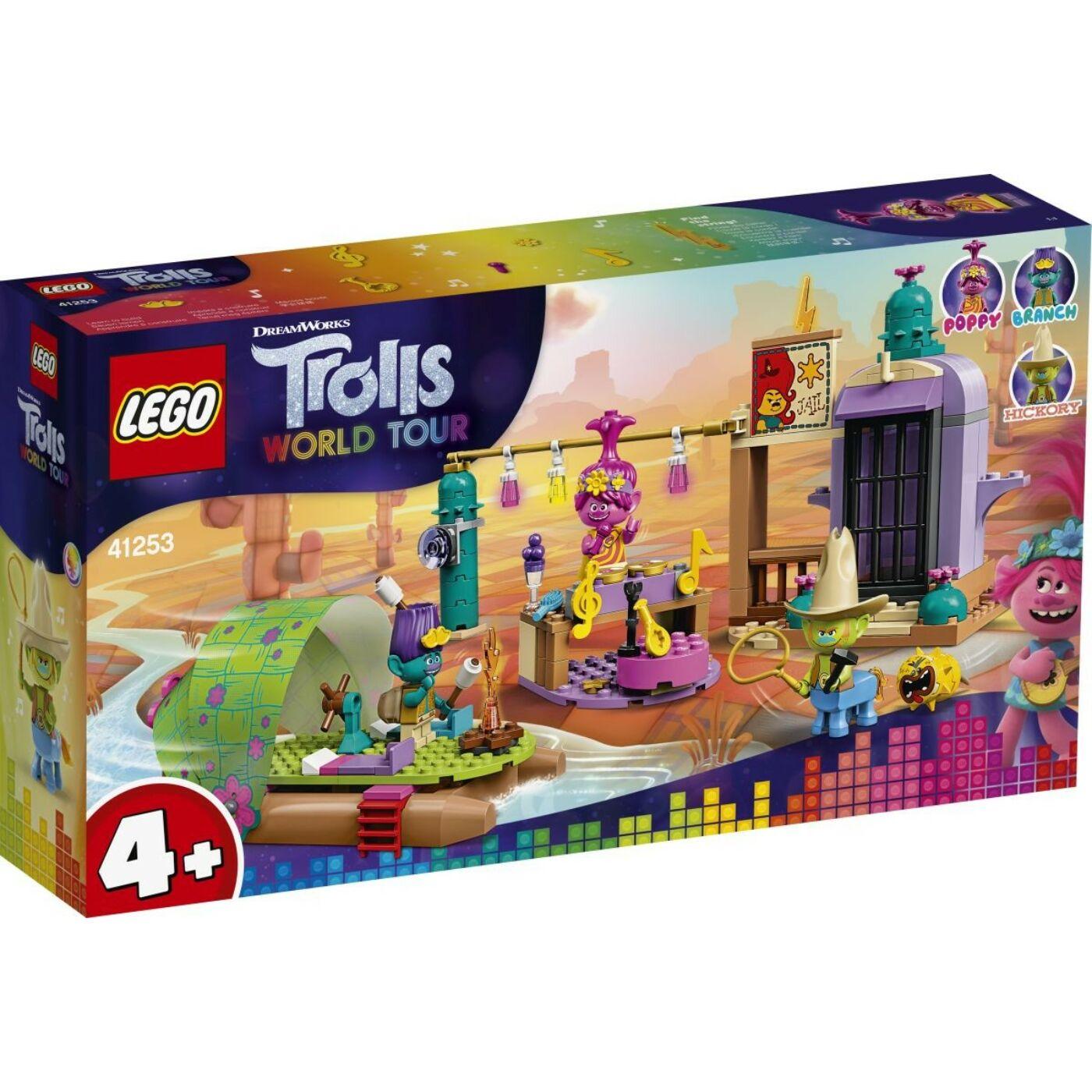 Lego Trolls Tutajos kaland magányos lapályon