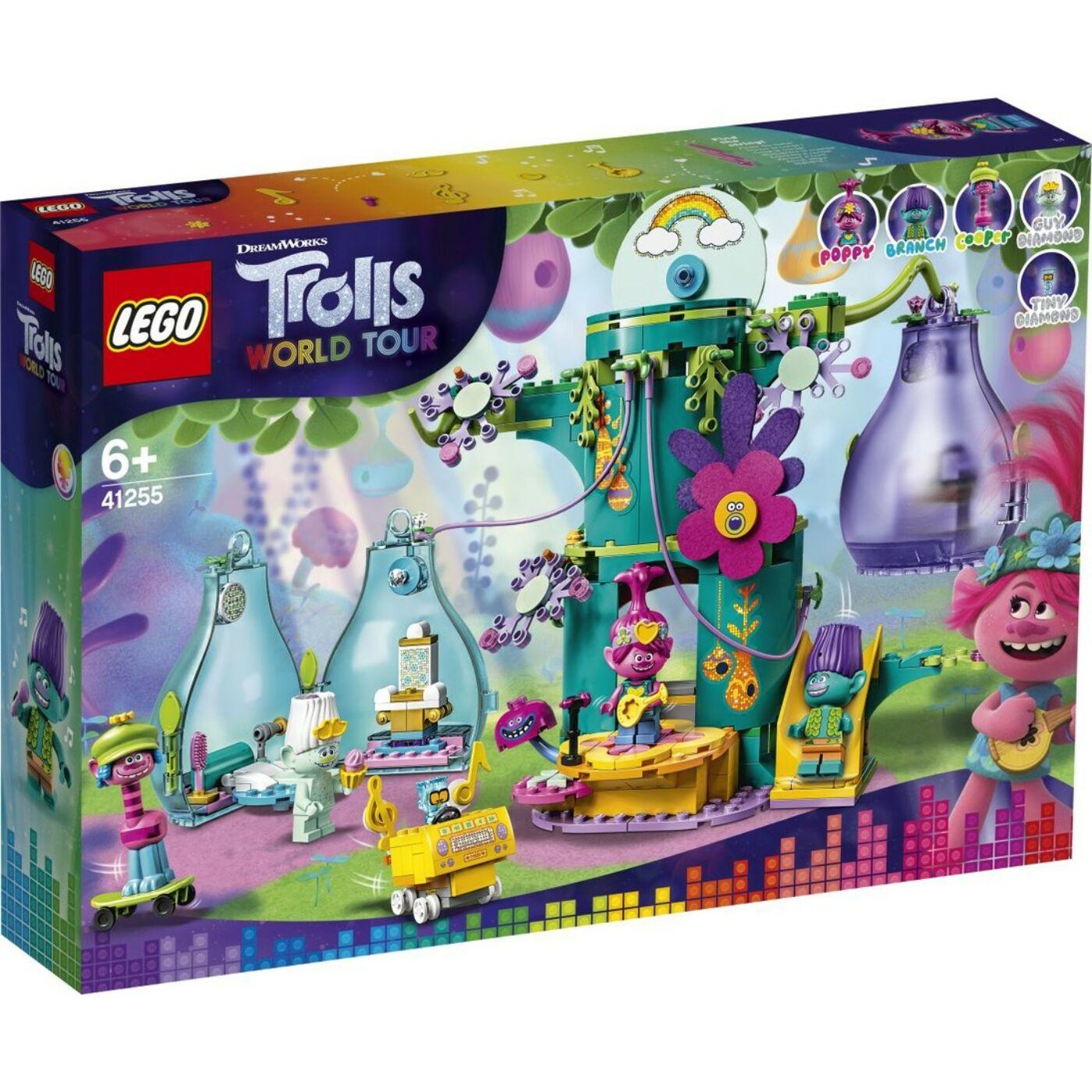 Lego Trolls Ünnepség Pop faluban