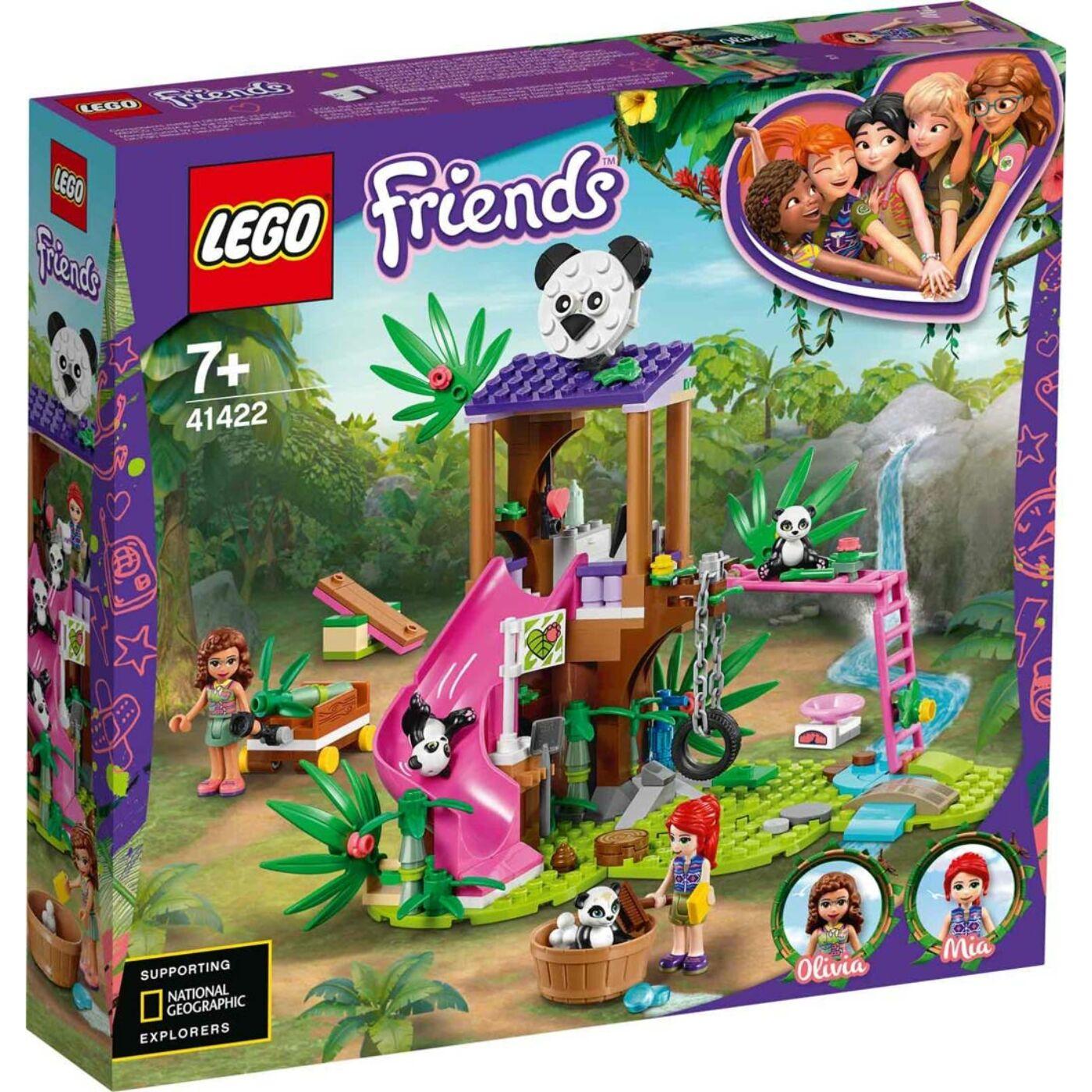 Lego Friends Panda lombház