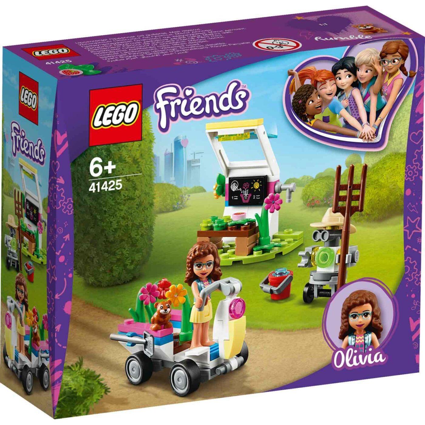 Lego Friends Olívia virágoskertje