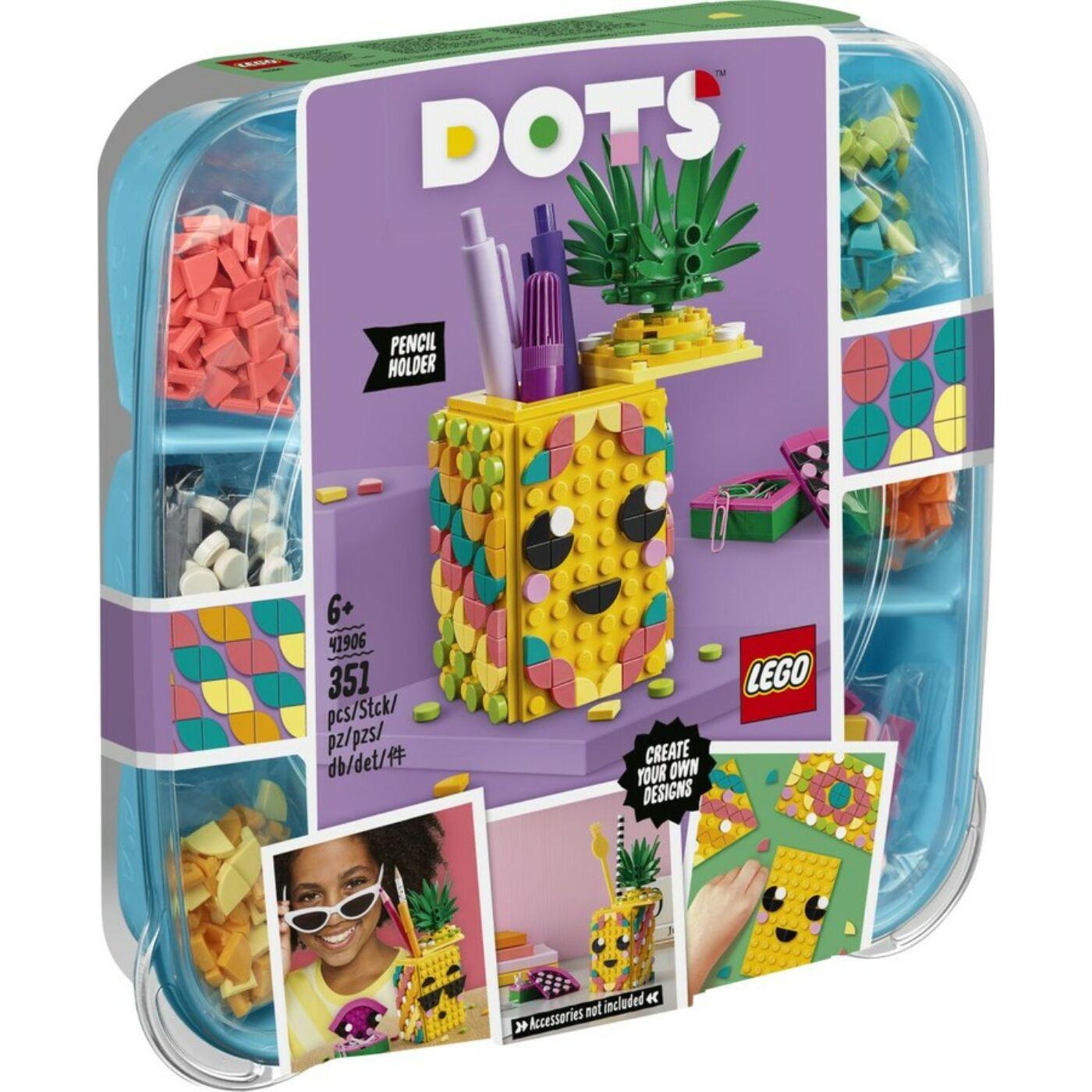 Lego Dots Ananász tolltartó