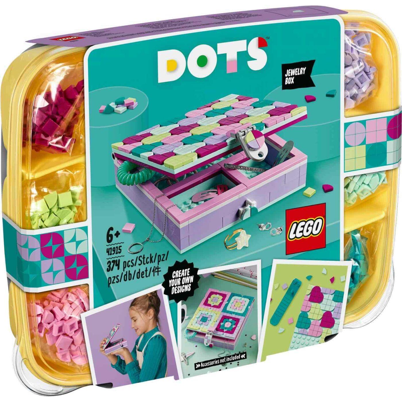 Lego Dots Ékszerdoboz
