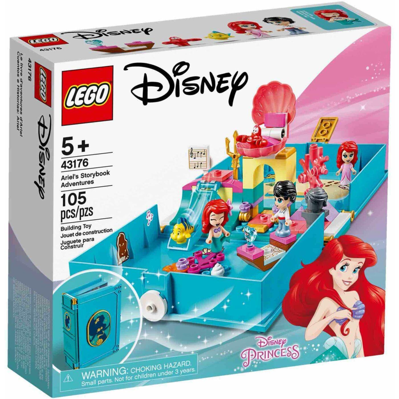 Lego Disney Princess Ariel mesekönyve