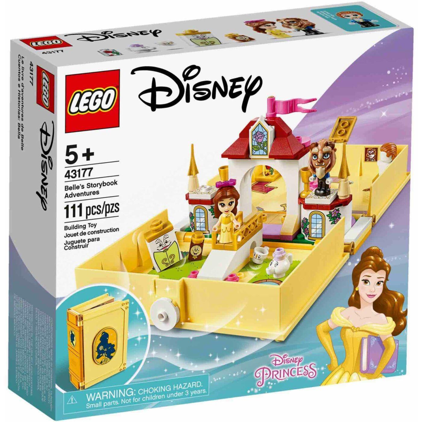 Lego Disney Princess Belle mesekönyve