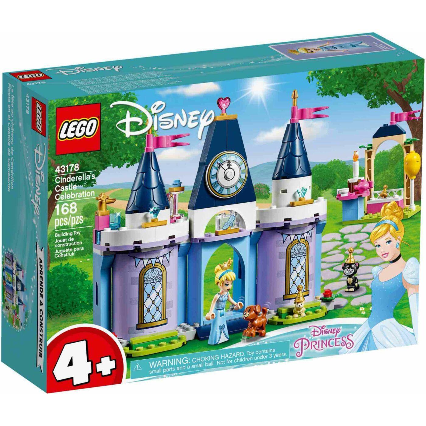 Lego Disney Princess Hamupipőke ünnepe a kastélyban