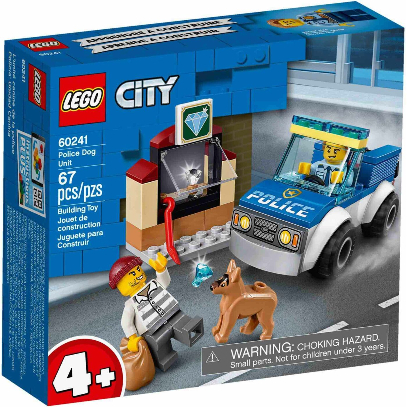 Lego City Kutyás rendőri egység