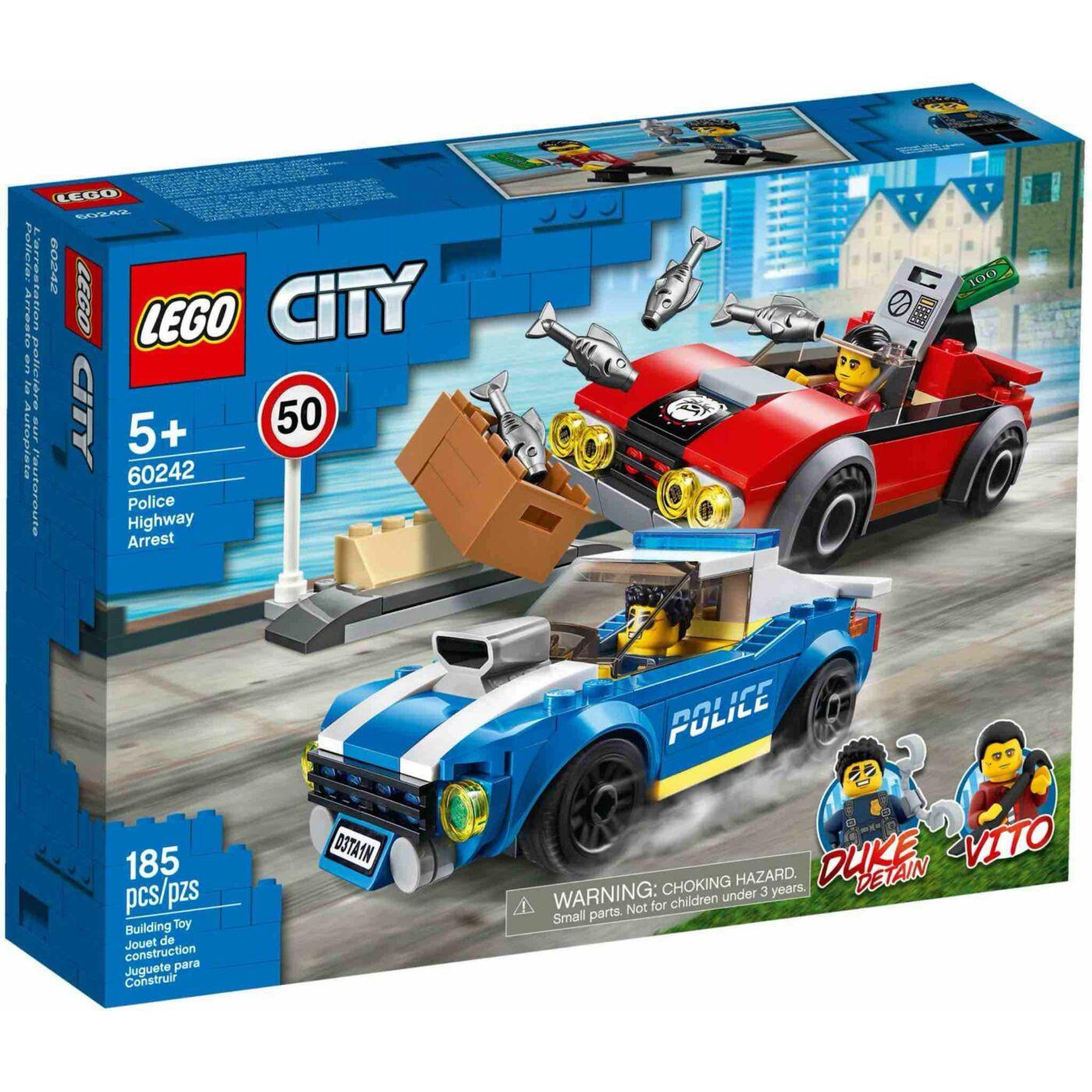 Lego City Rendőrségi letartóztatás az országúton